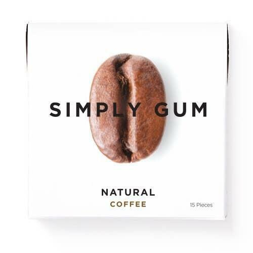 Coffee Natural Chewing Gum | Trada Marketplace