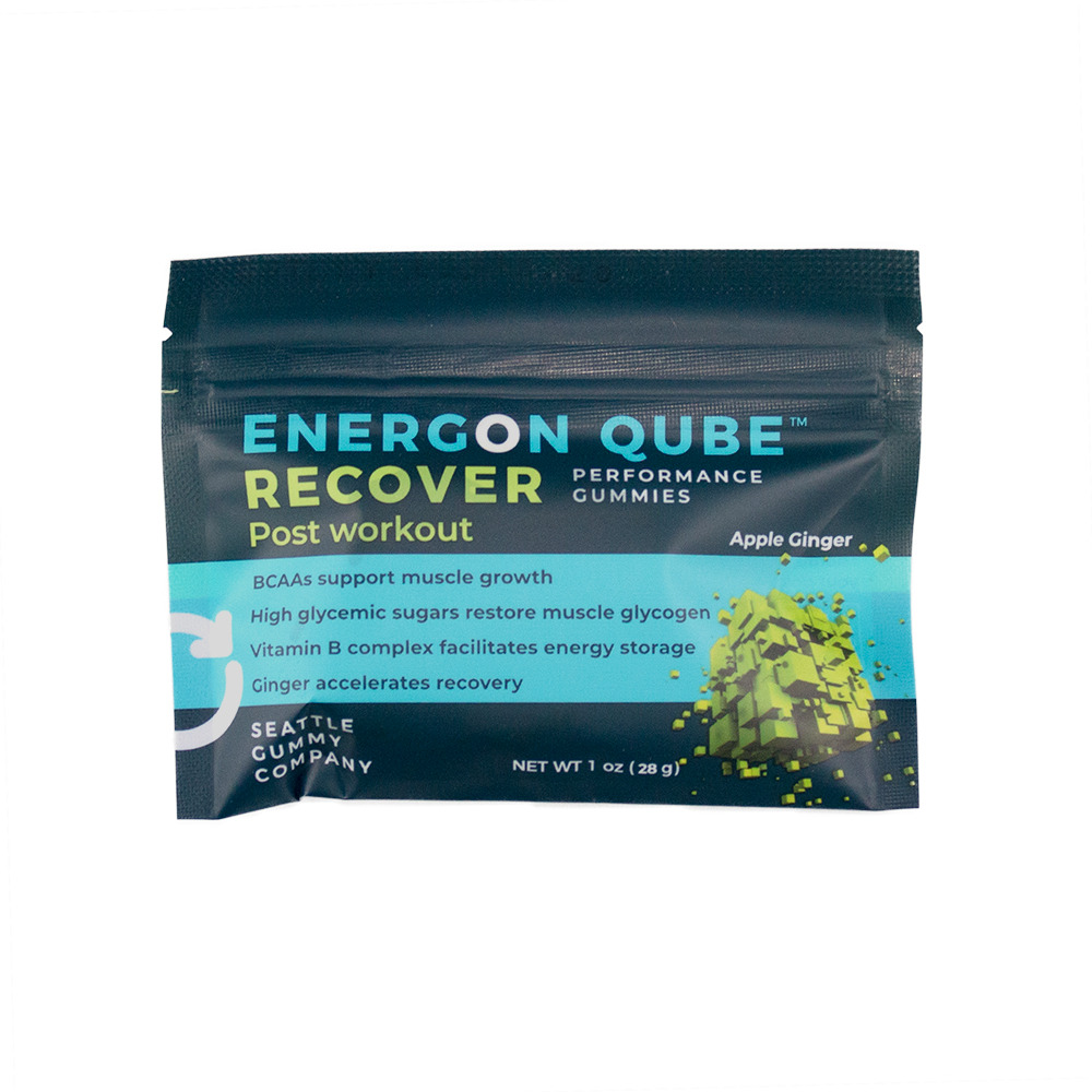 Energon Qube Sports Gummies Apple Ginger Recover Post-Workout (12-Pack)   Trada Marketplace