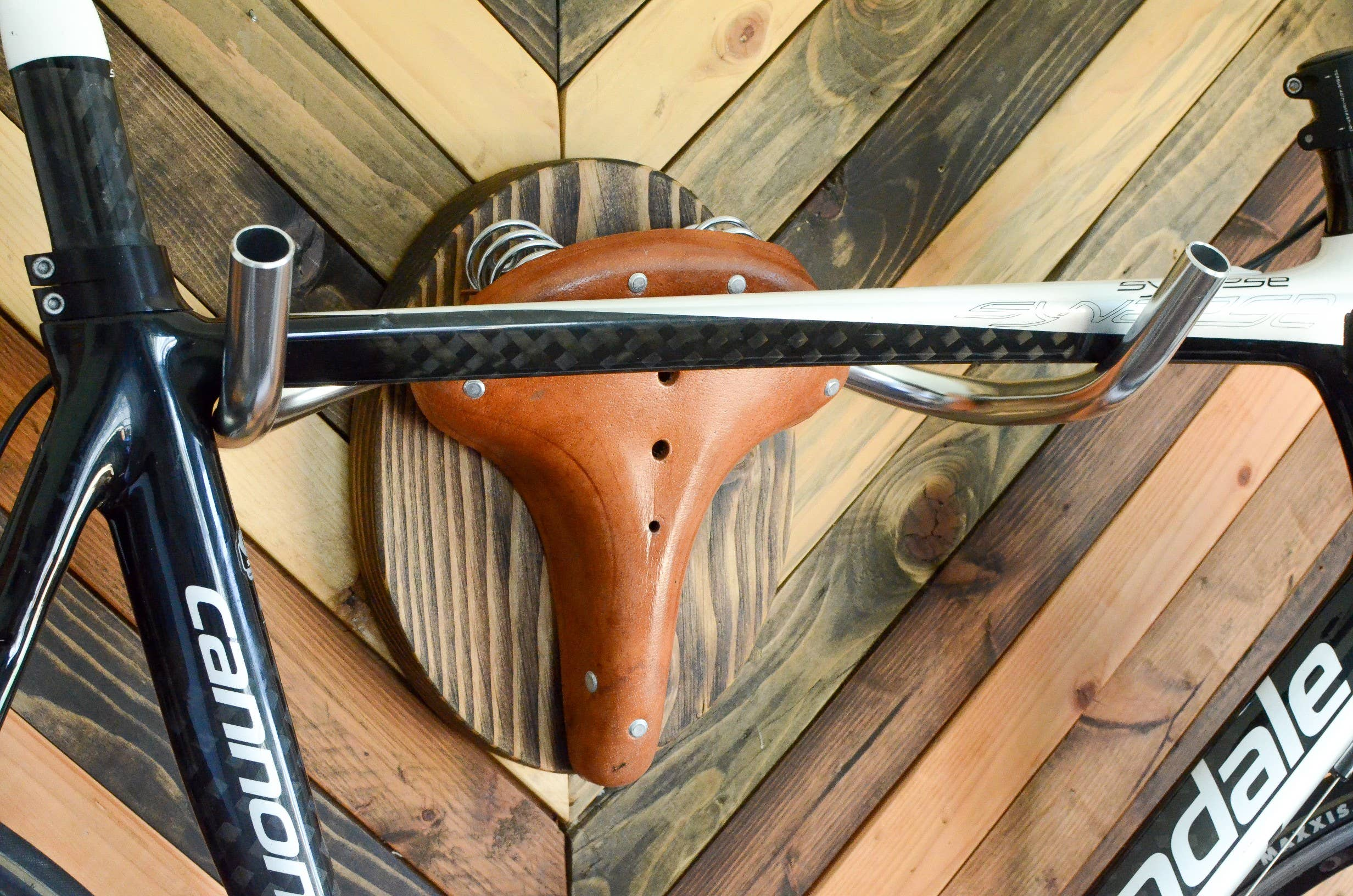 """Bicycle Rack Taxidermy -- """"The Highland"""" 