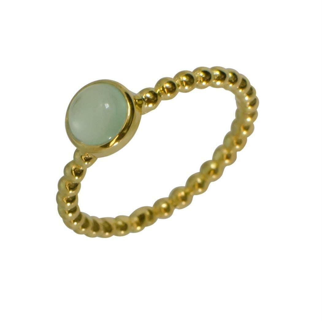 20% OFF Betty Boop Green Chalcedony Dot Vermeil Band Ring   Trada Marketplace