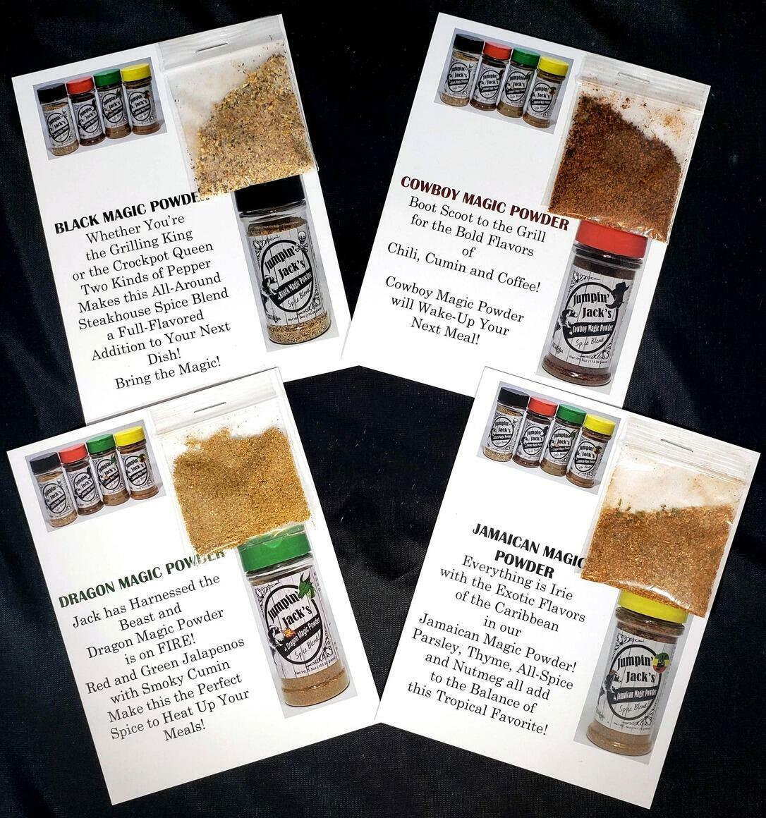 Spice Blend Sample Cards   Trada Marketplace