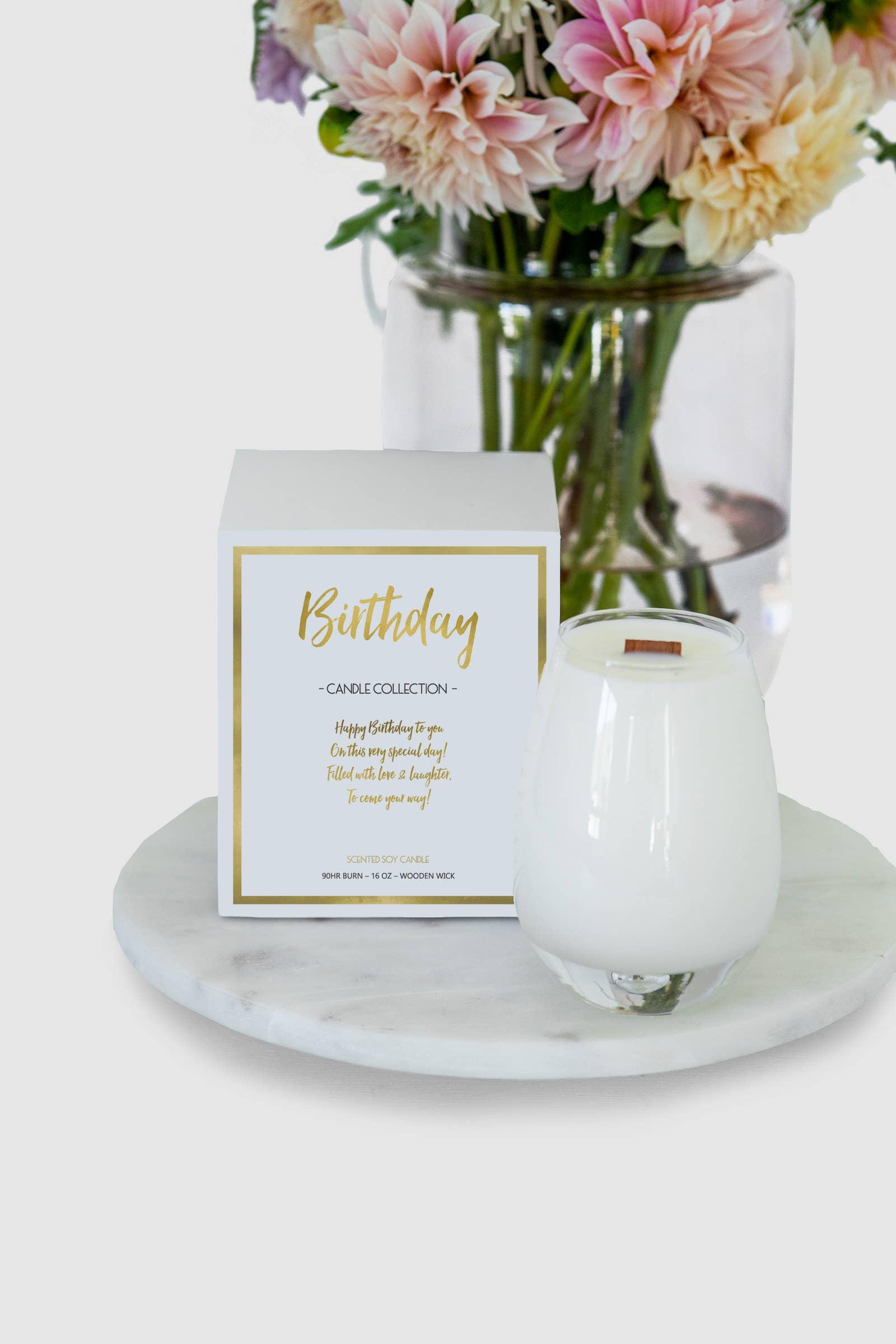 Birthday Wishes Candle | Trada Marketplace