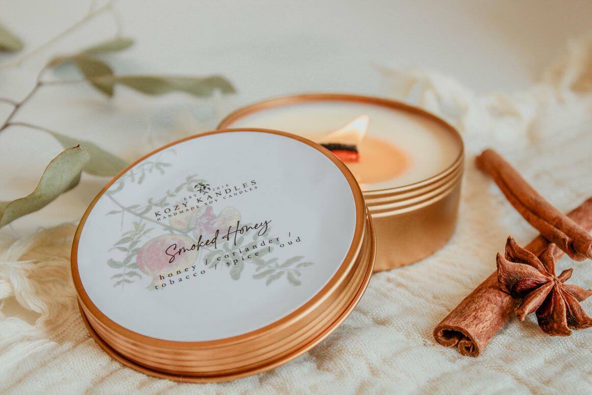 Smoked Honey - 4oz | Trada Marketplace