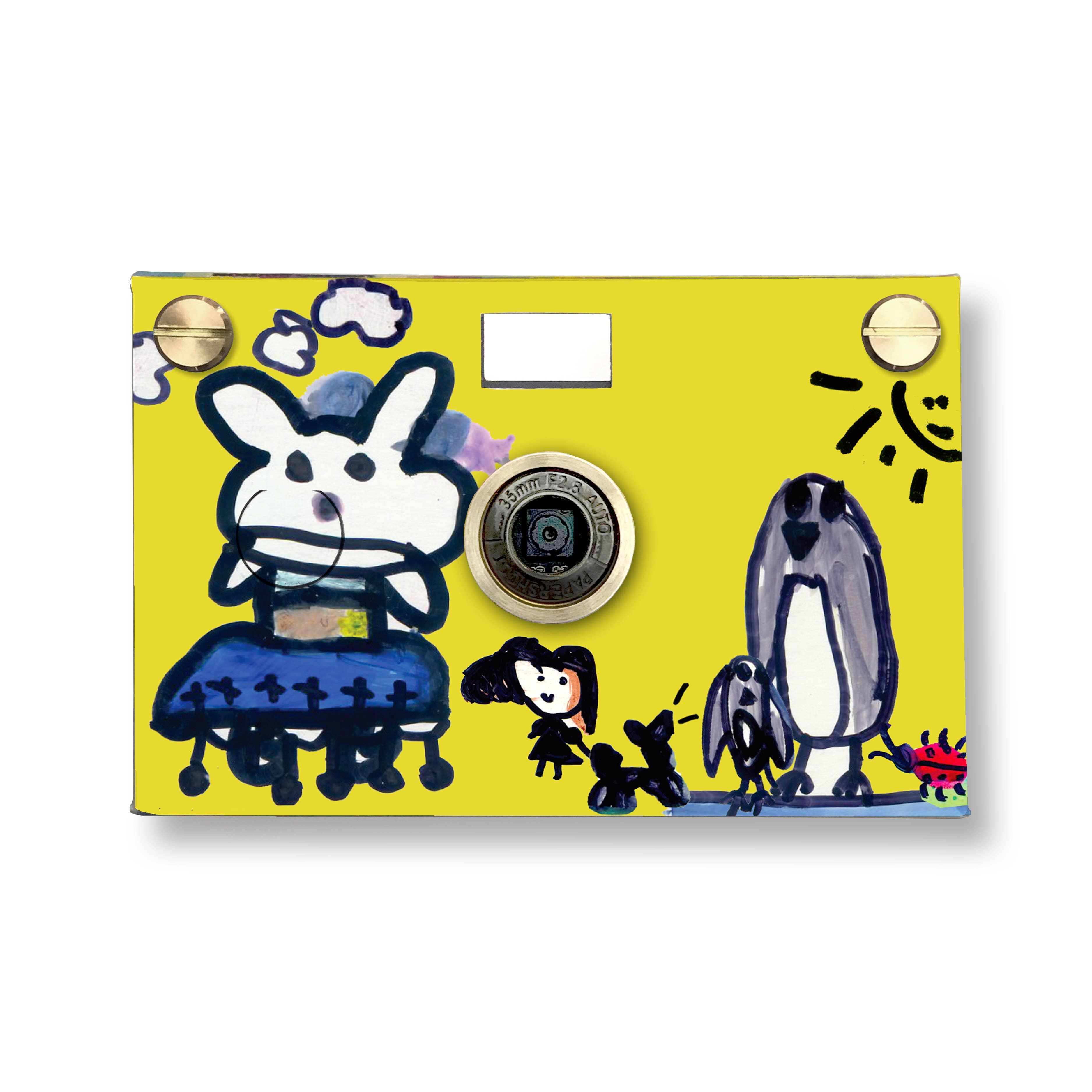 Happy Rabbit and Her Friends Paper Digital Camera   Trada Marketplace