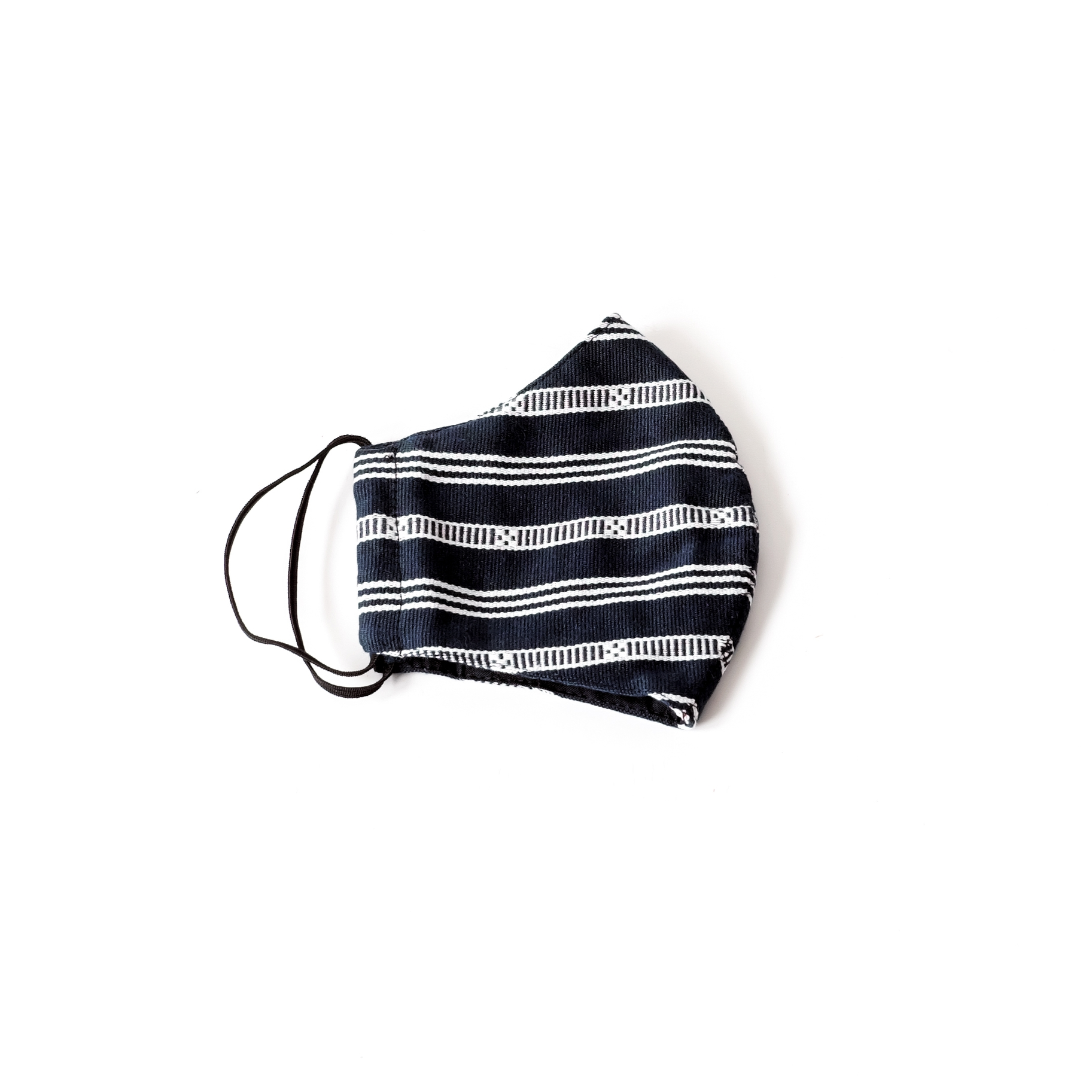 Face Mask - Handwoven, Lines | Trada Marketplace