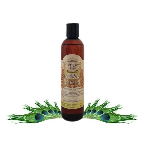 Body Oil - Muscle Therapy 8 fl.oz.   Trada Marketplace
