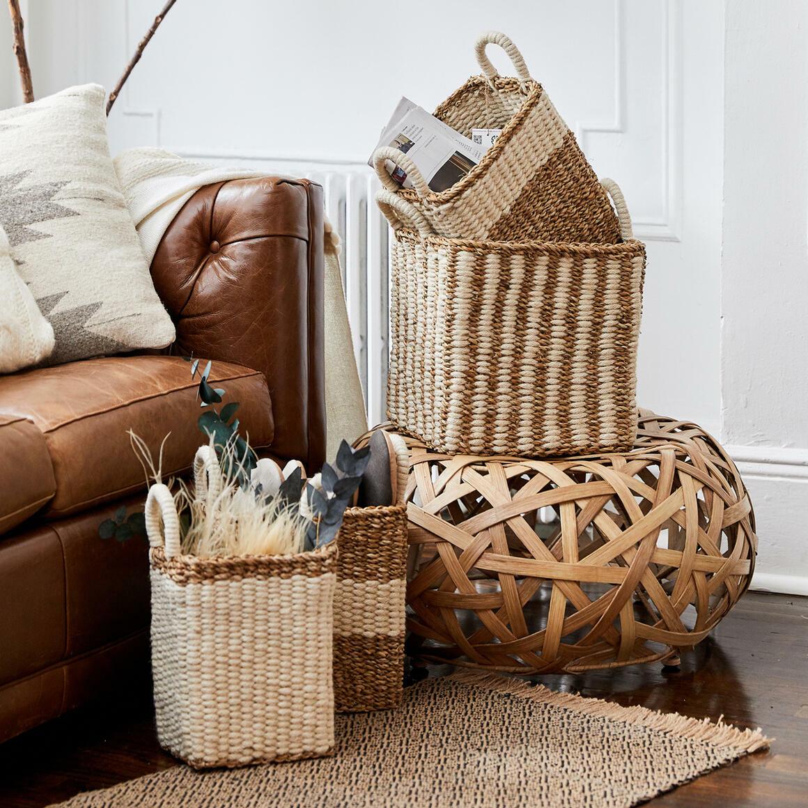 Ula Storage Basket (Set of 3) | Trada Marketplace