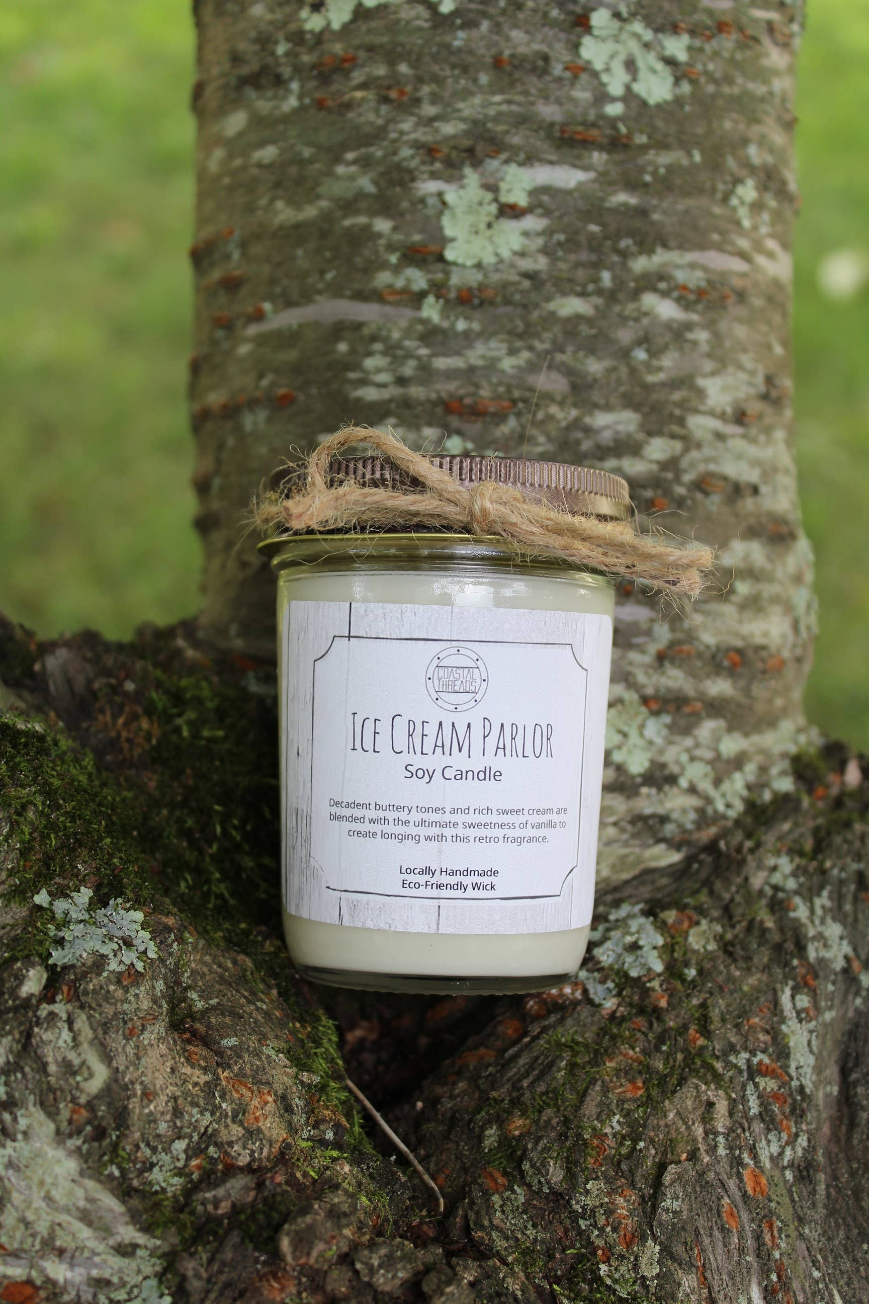 Ice Cream Parlor Soy Candle | Trada Marketplace