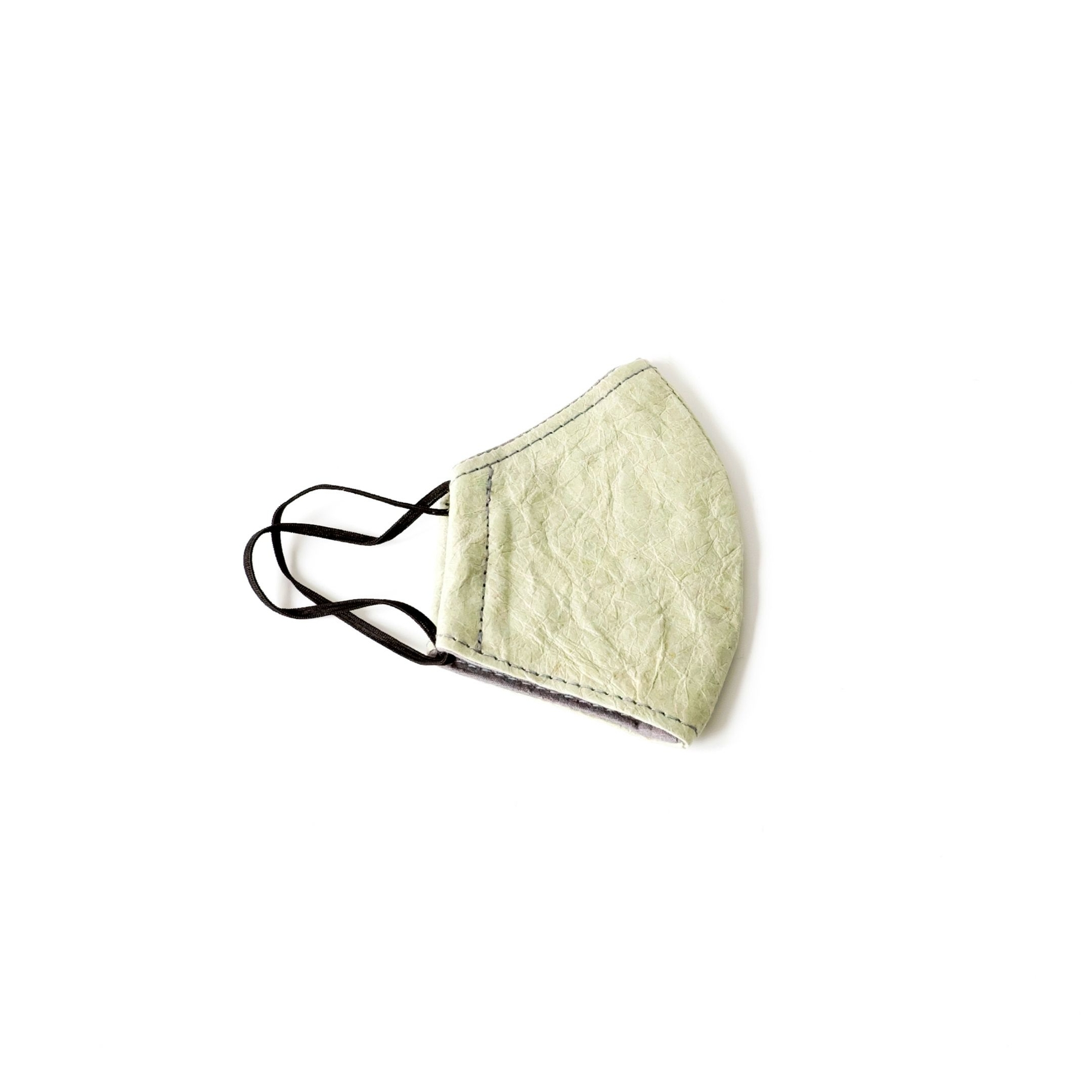 Face Mask - Paper Leather, Sage | Trada Marketplace