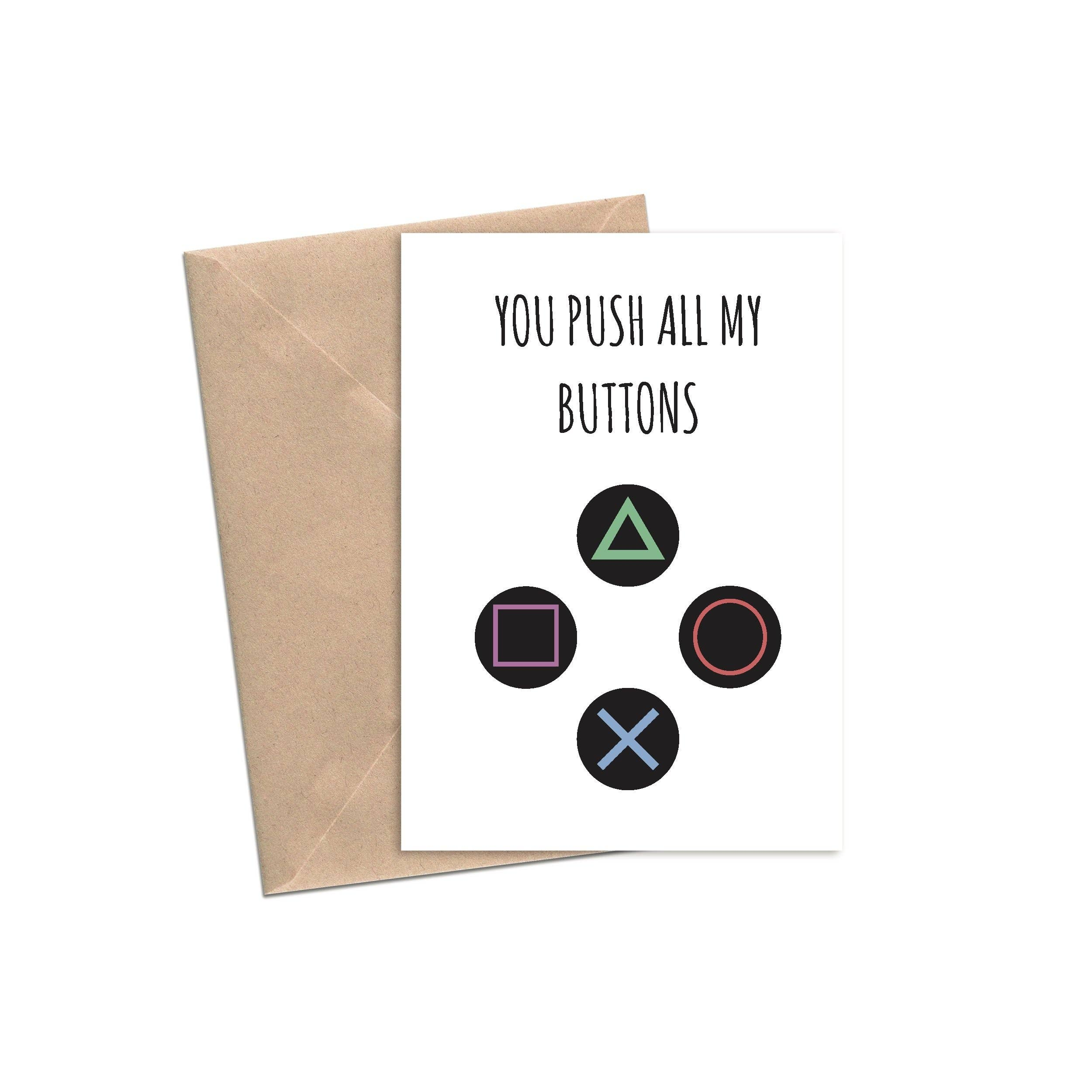 You Push All My Buttons | A2 | Trada Marketplace