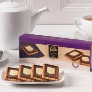 Chocolate Crest Biscuits   Trada Marketplace