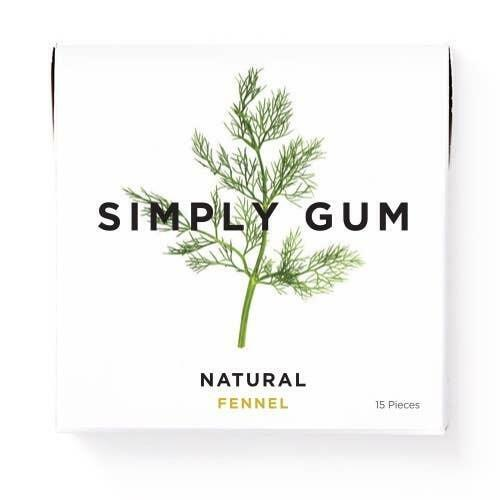 Fennel Natural Chewing Gum | Trada Marketplace
