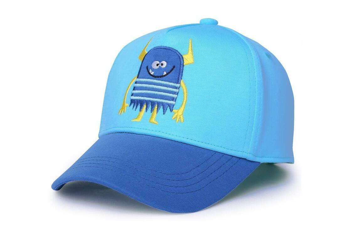 Kids UPF50+ Ball Cap - Monster Blue | Trada Marketplace