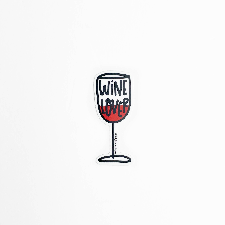 Wine Lover Sticker | Trada Marketplace