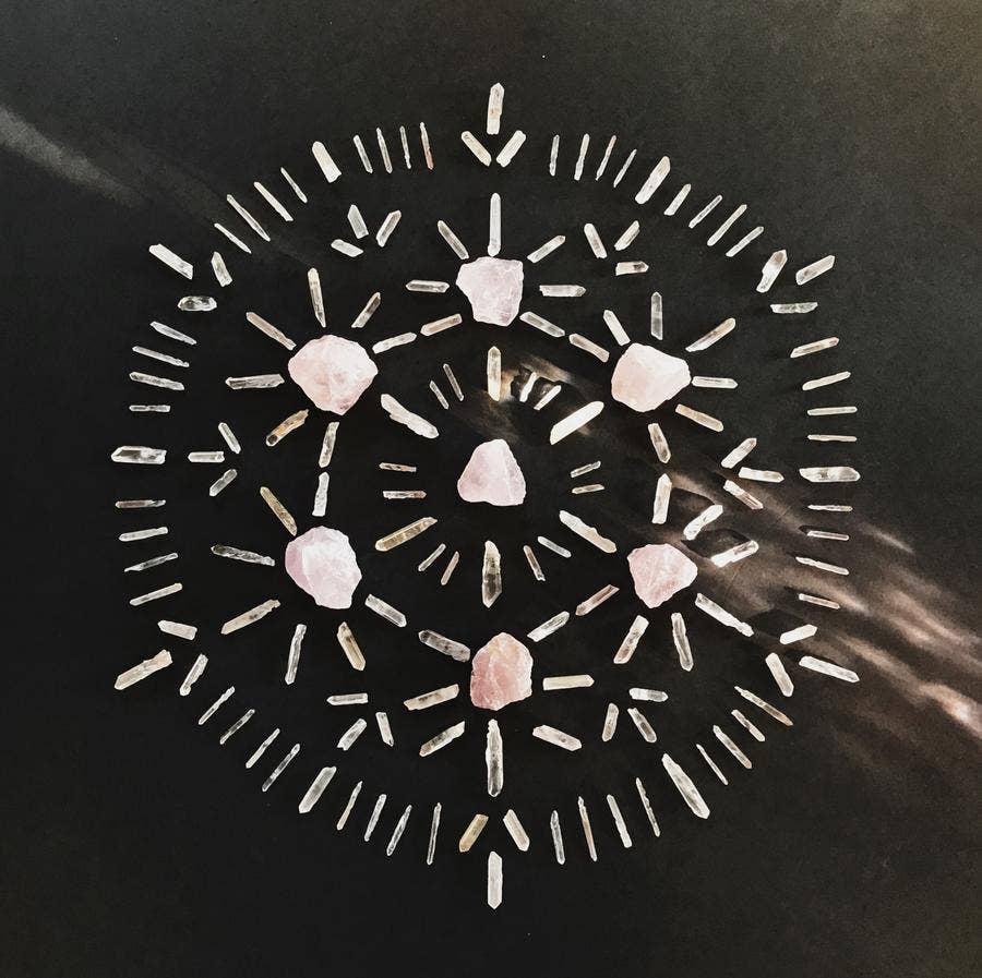 Love Crystal Grid Kit | Trada Marketplace