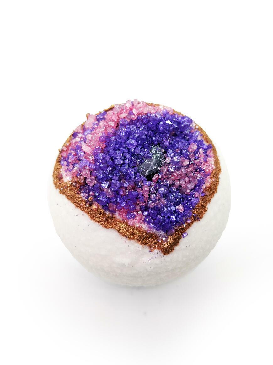 Hidden Gem Geode - Bath Bomb | Trada Marketplace