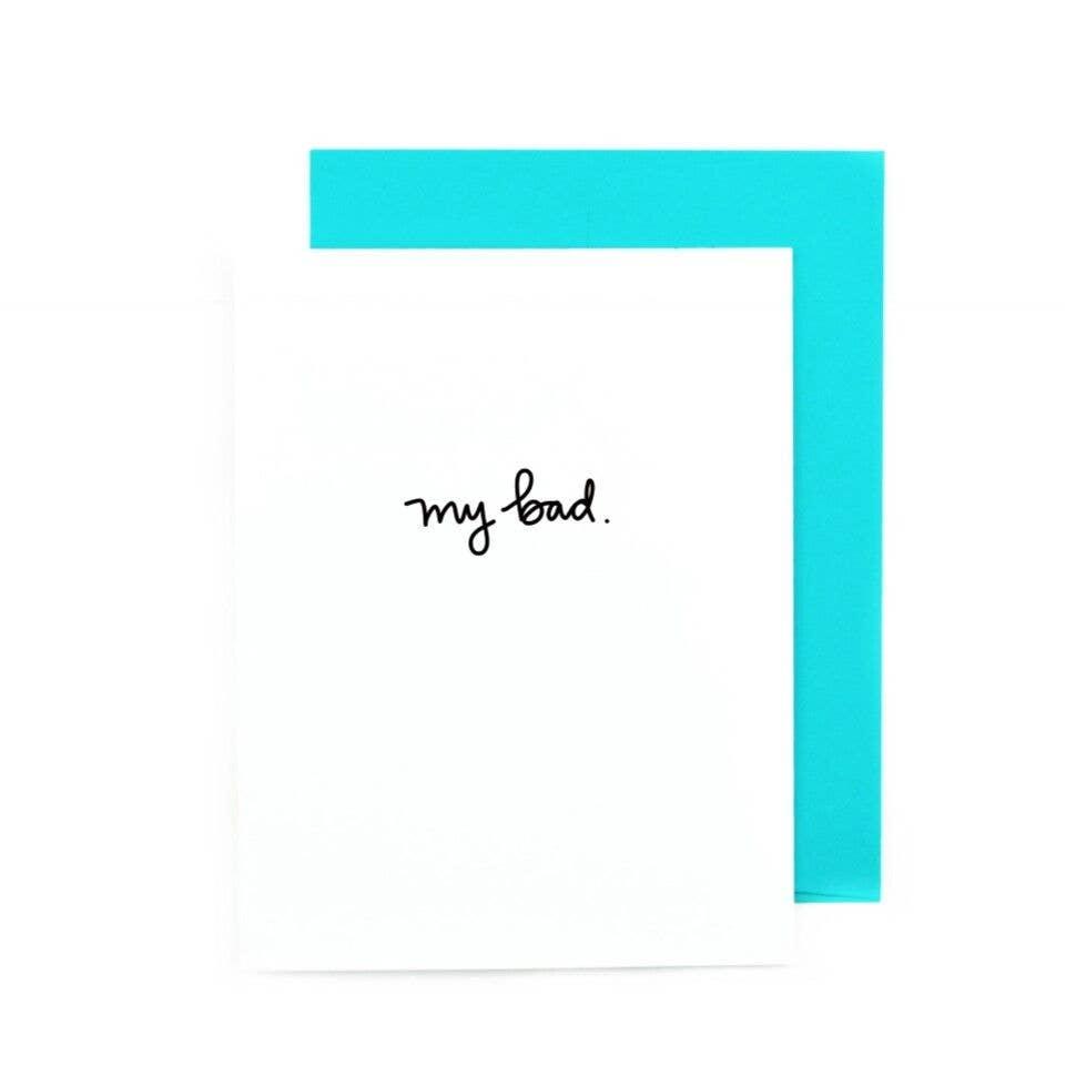 My Bad | Trada Marketplace