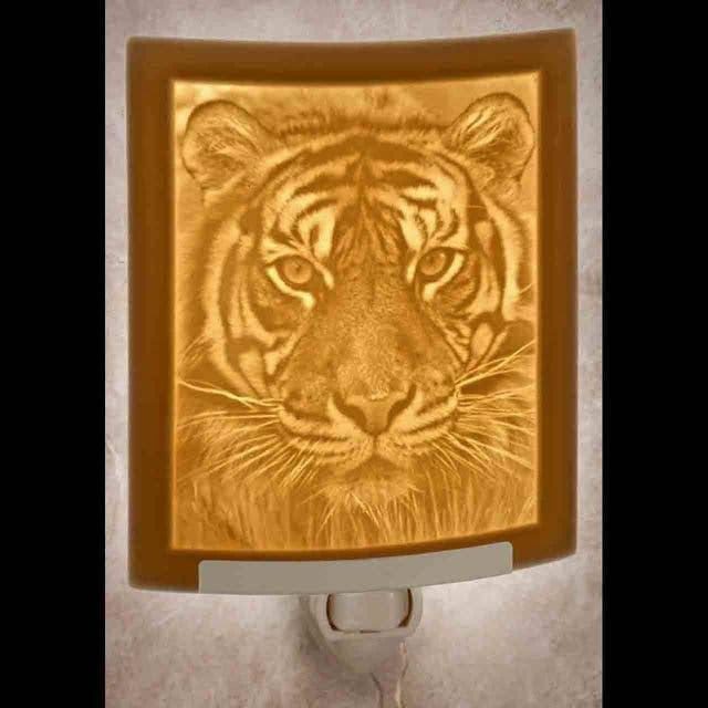 Tiger Curved Night Light   Trada Marketplace