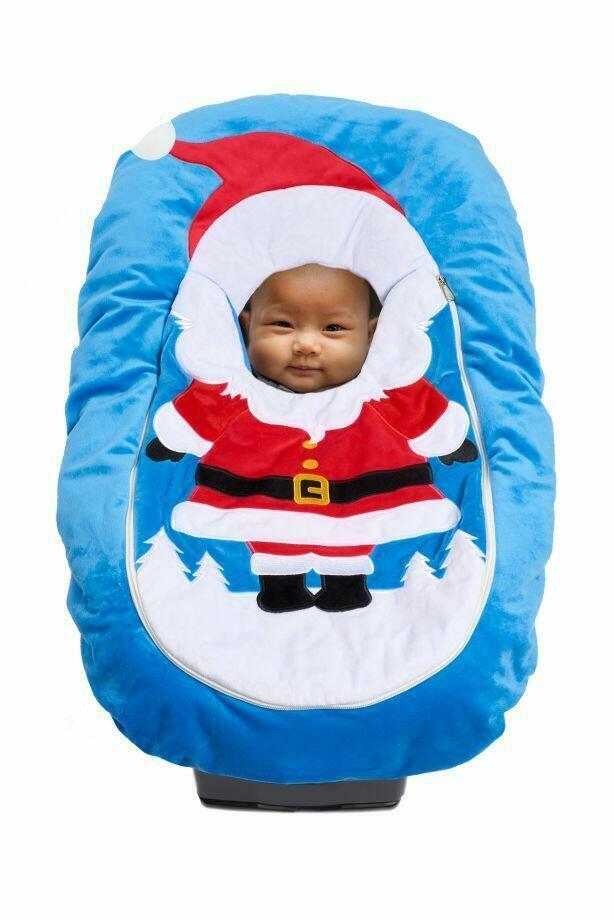 Car Seat Cuties Santa: Infant Car Seat Cover   Trada Marketplace