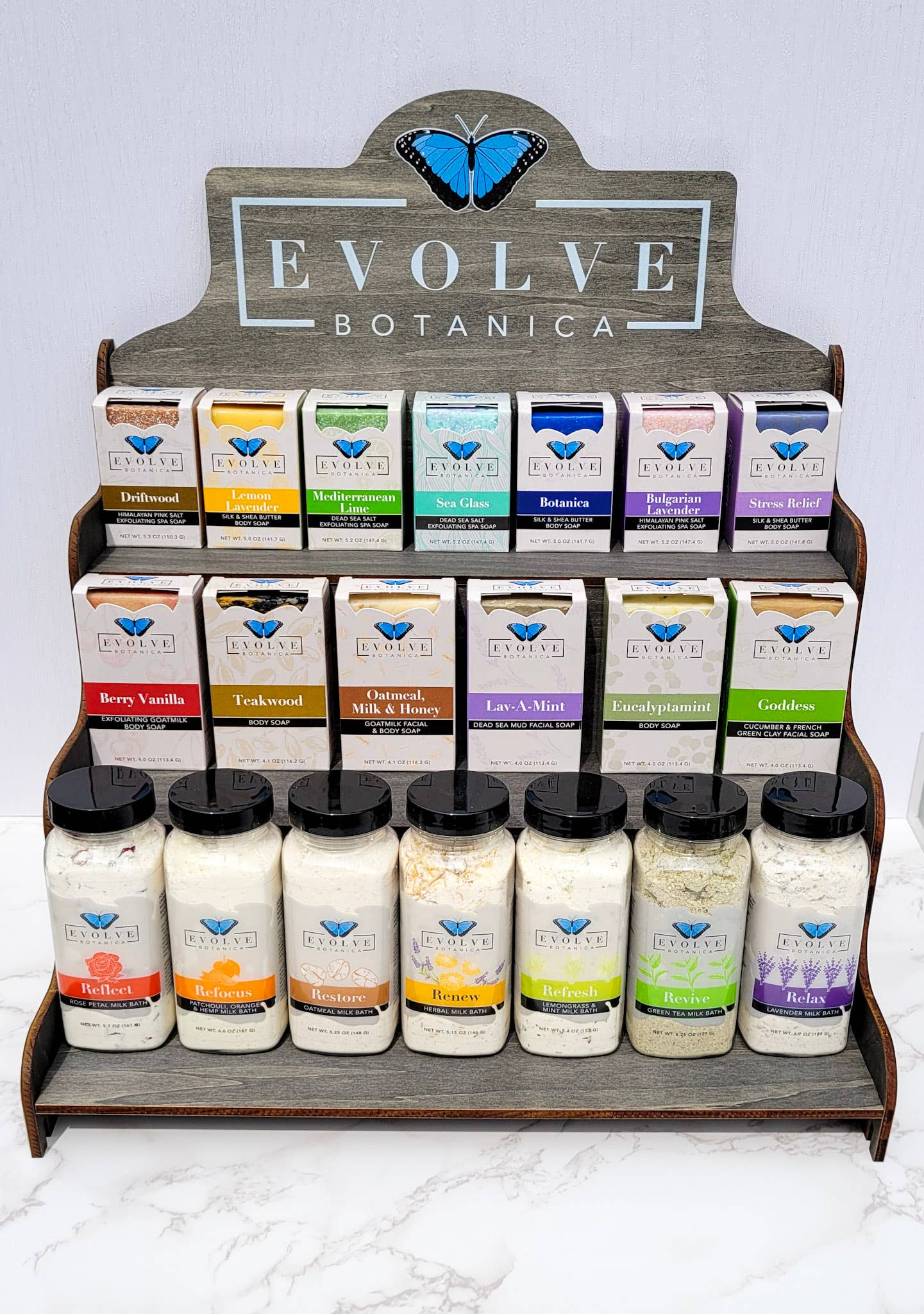 Soap or Product Display - Large Shelf (Empty) - | Trada Marketplace