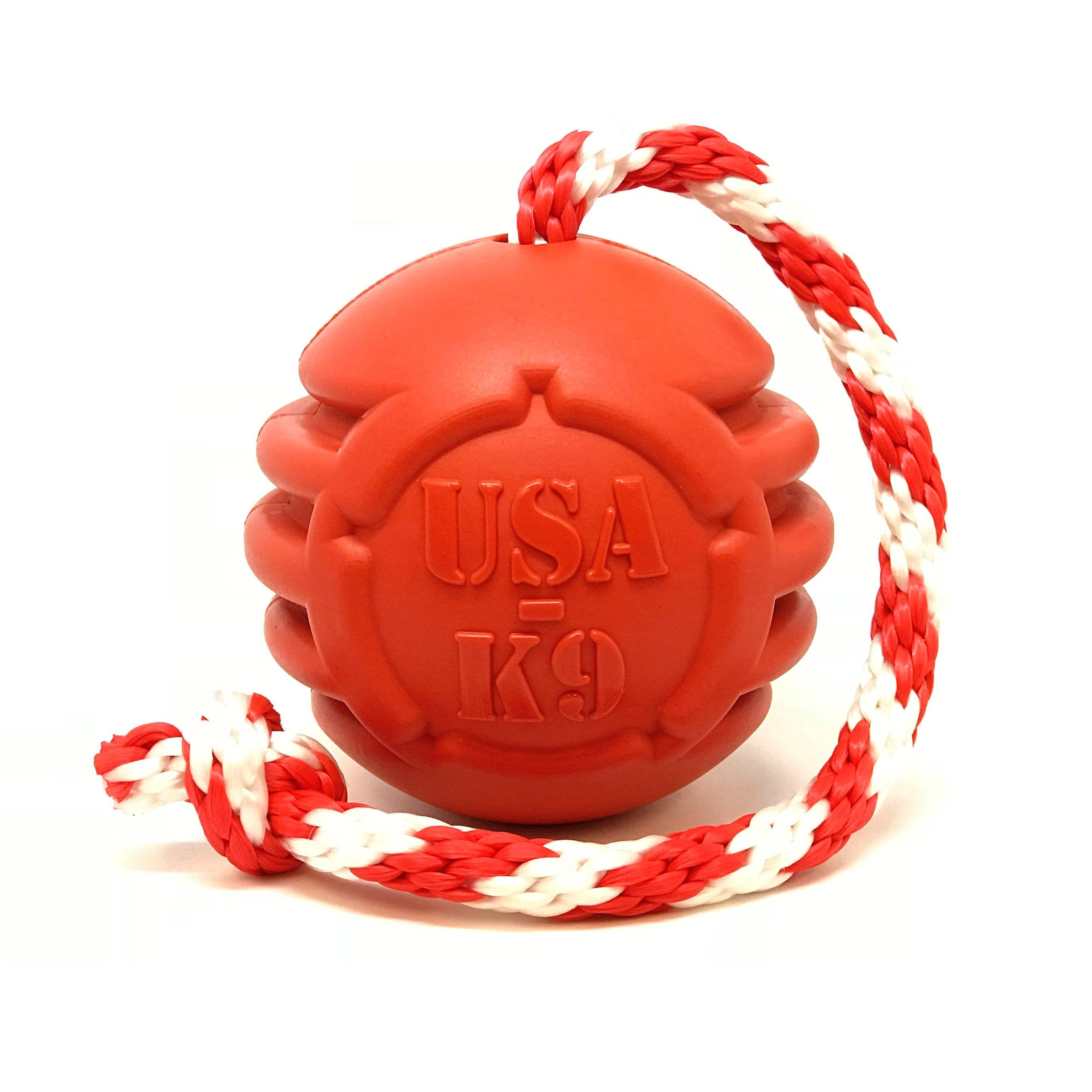 USA-K9 Stars and Stripes- Durable Reward Toy - Large - Red   Trada Marketplace