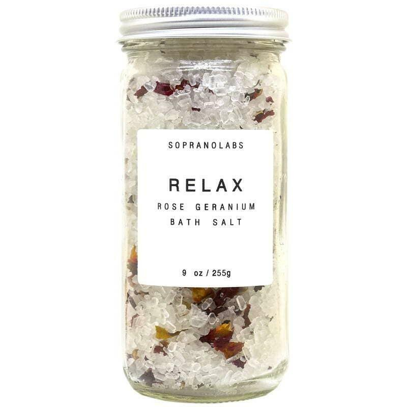 Rose Relax Bath Salt.SPA  Gift for him/her   Trada Marketplace