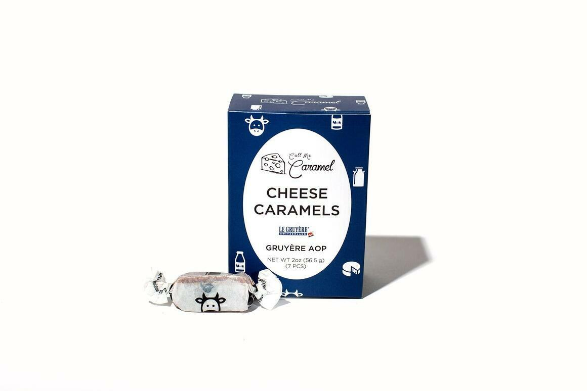 Gruyère AOP Caramel 2oz Box | Trada Marketplace