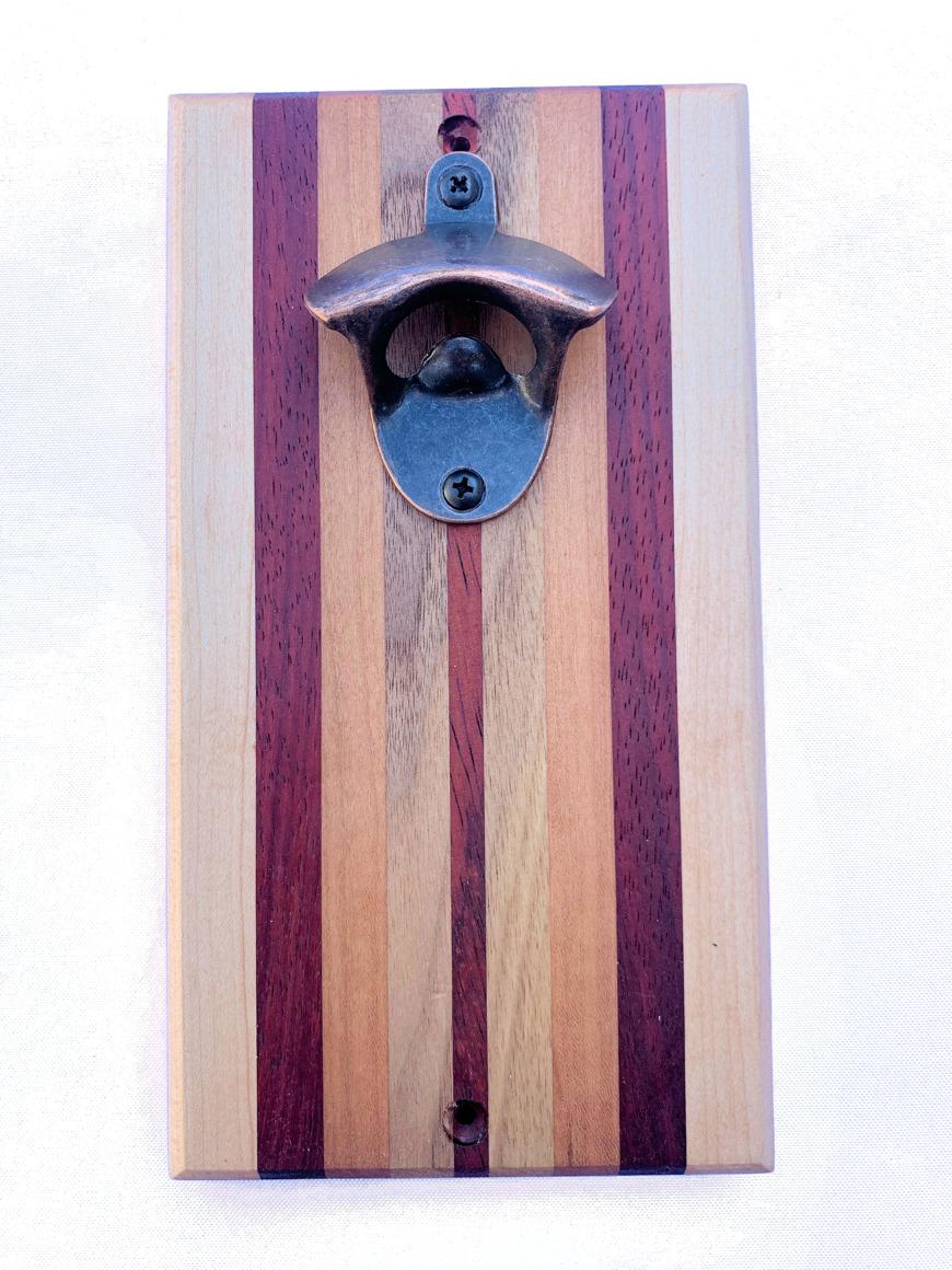 Brazos Magnet Bottle Opener (Wall-Fastened Type) | Trada Marketplace