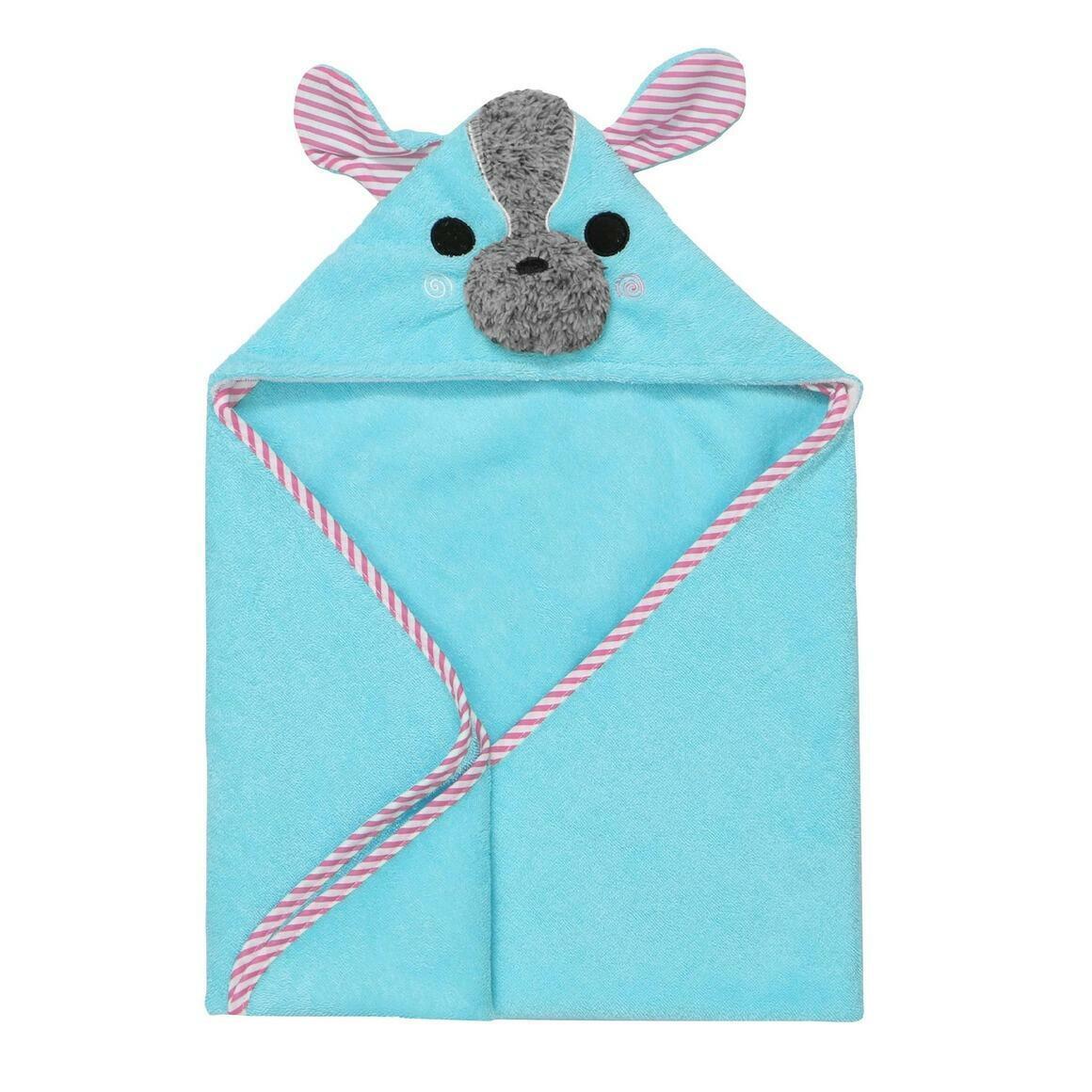 Baby Snow Terry Hooded Bath Towel Yorkie 0-18M | Trada Marketplace