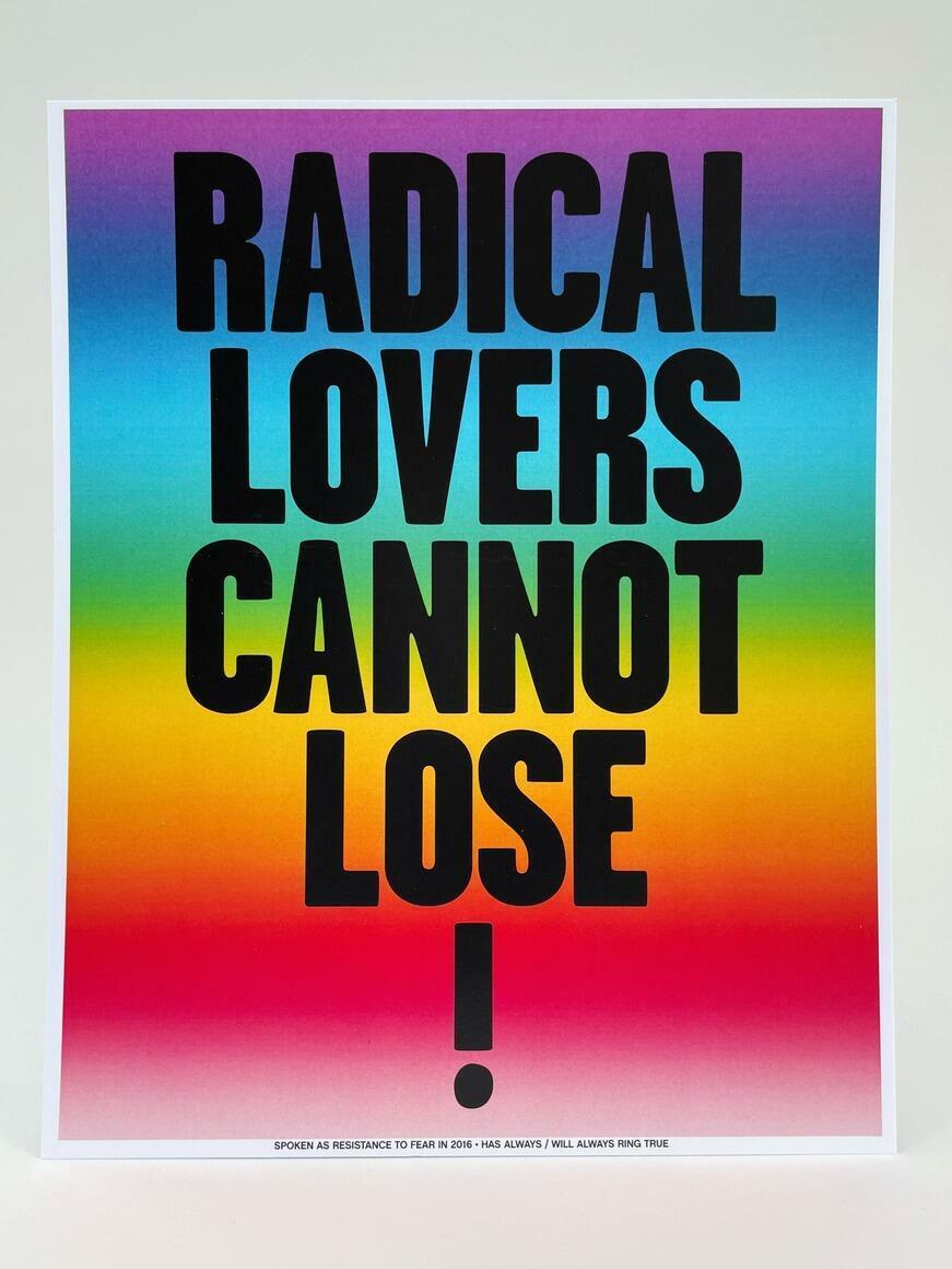 Radical Lovers Cannot Lose!   Art Print   Trada Marketplace