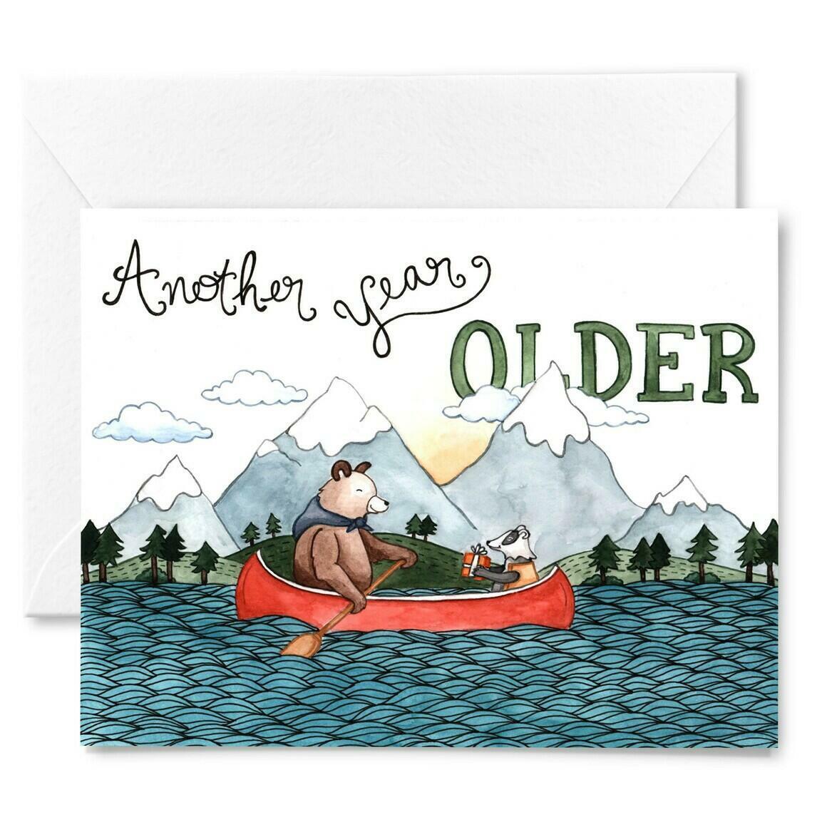 Canoe Believe It Birthday Card | Trada Marketplace