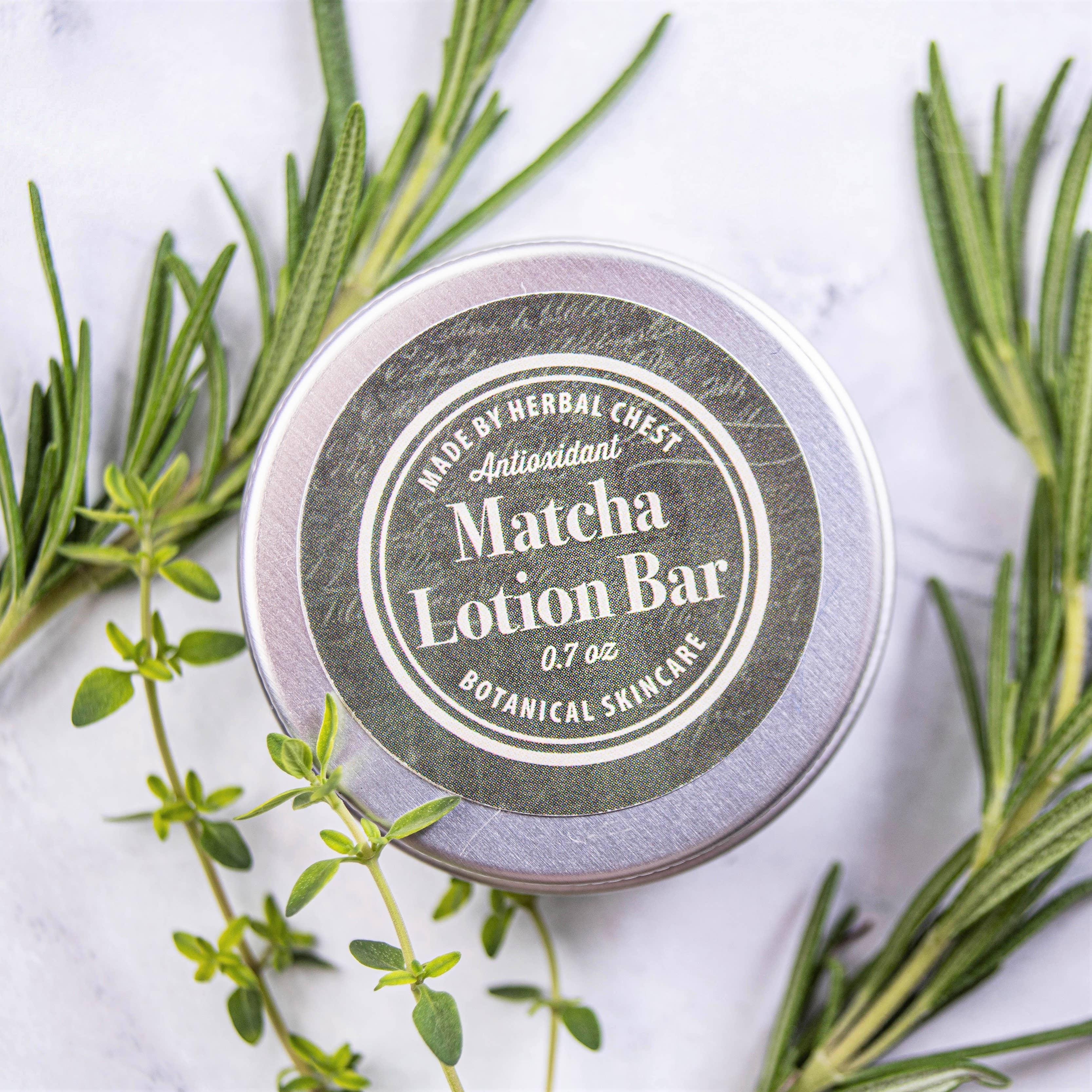Matcha Green Tea Lotion Bar -  Hard Body Moisturizer | Trada Marketplace