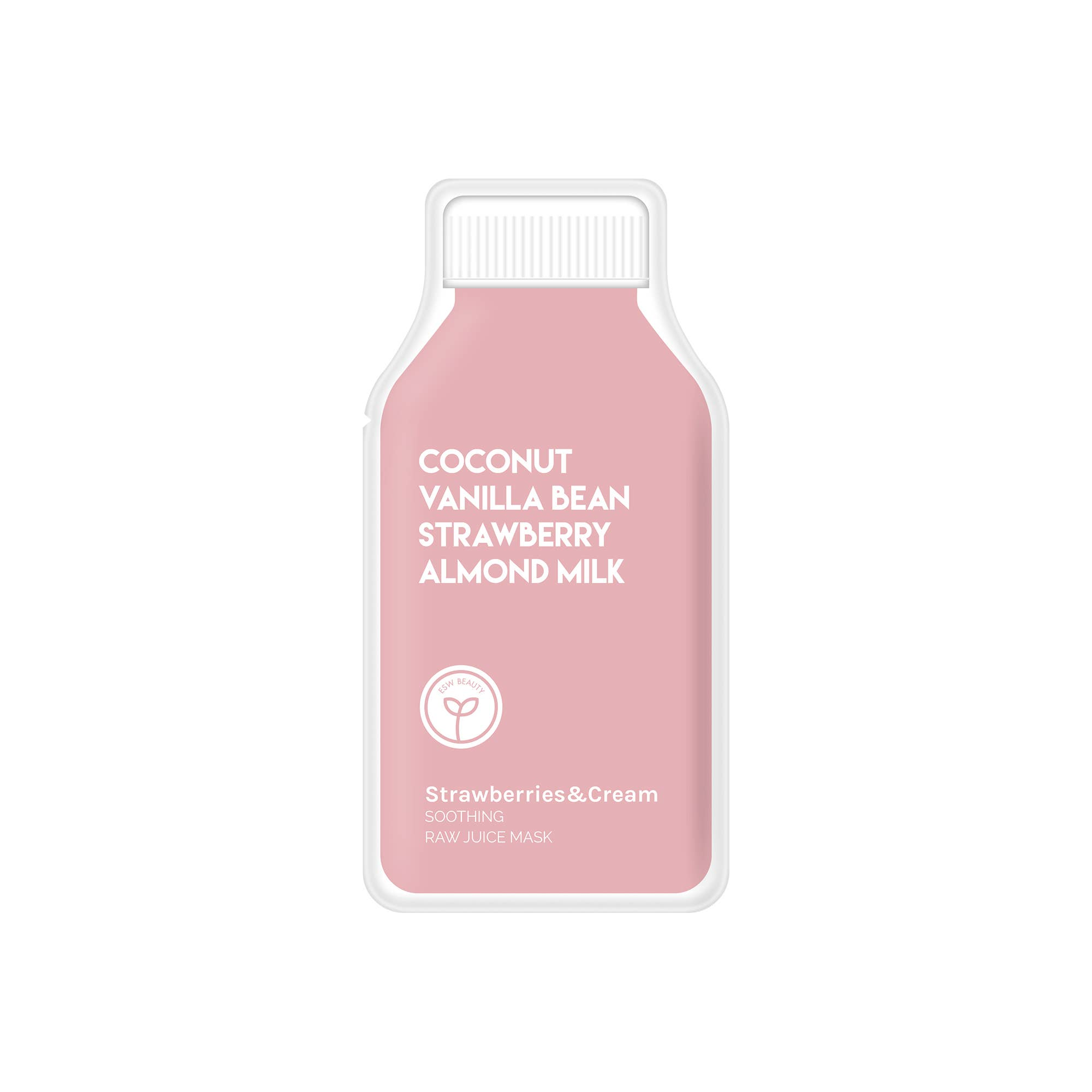 Preorder Strawberries and Cream Soothing Raw Juice Mask | Trada Marketplace