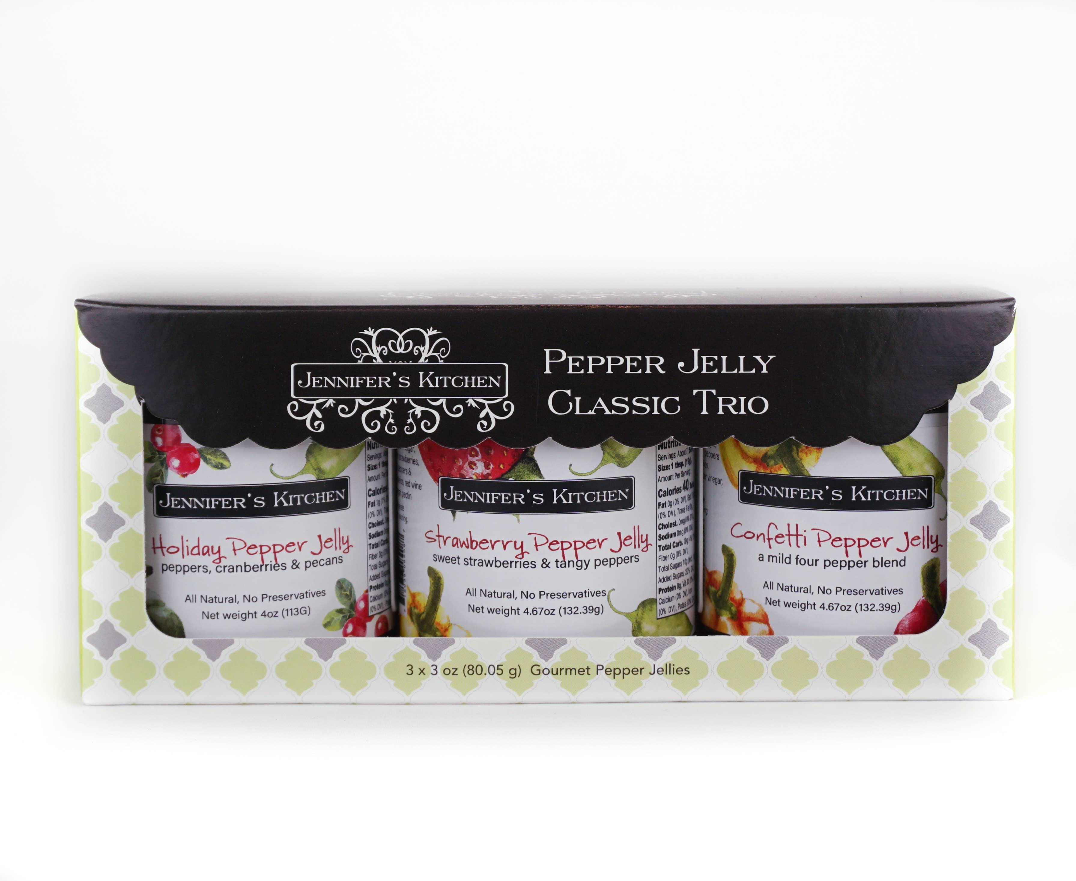 Classic Mini Pepper Jelly Trio | Trada Marketplace