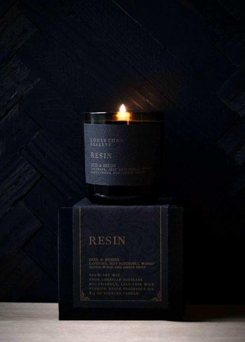 Resin Candle   Trada Marketplace