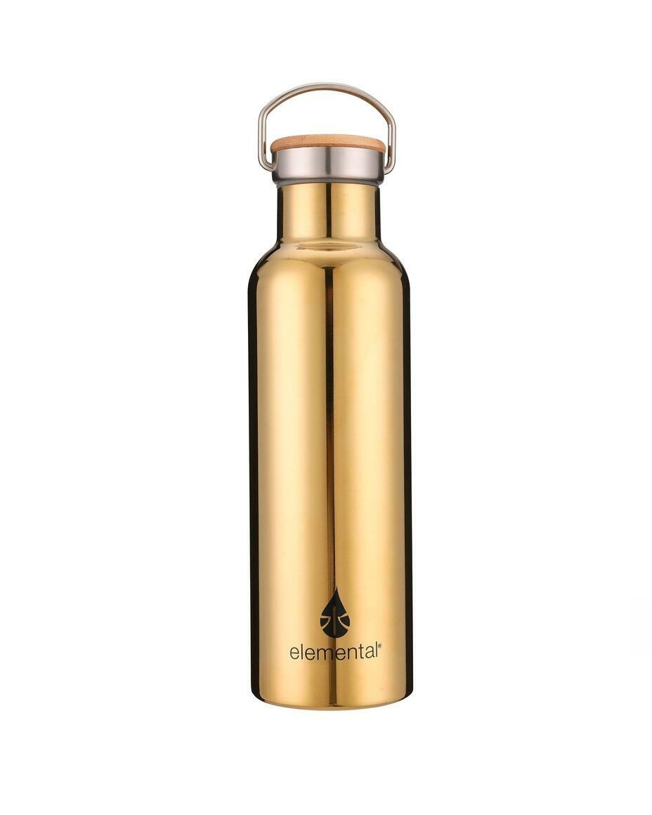 Classic Stainless Water Bottle - Gold   Trada Marketplace