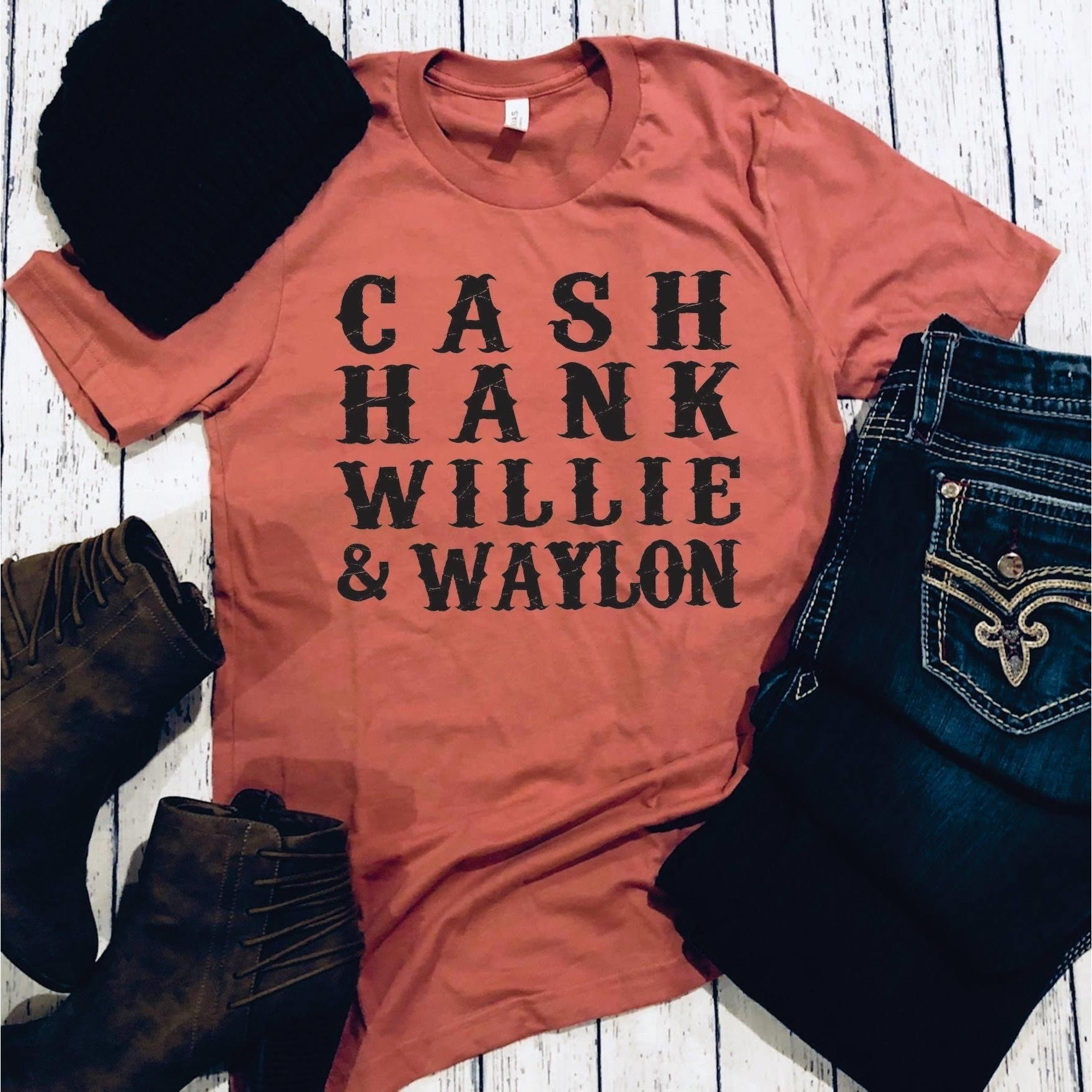 Men of Country Graphic tee - Rust   Trada Marketplace