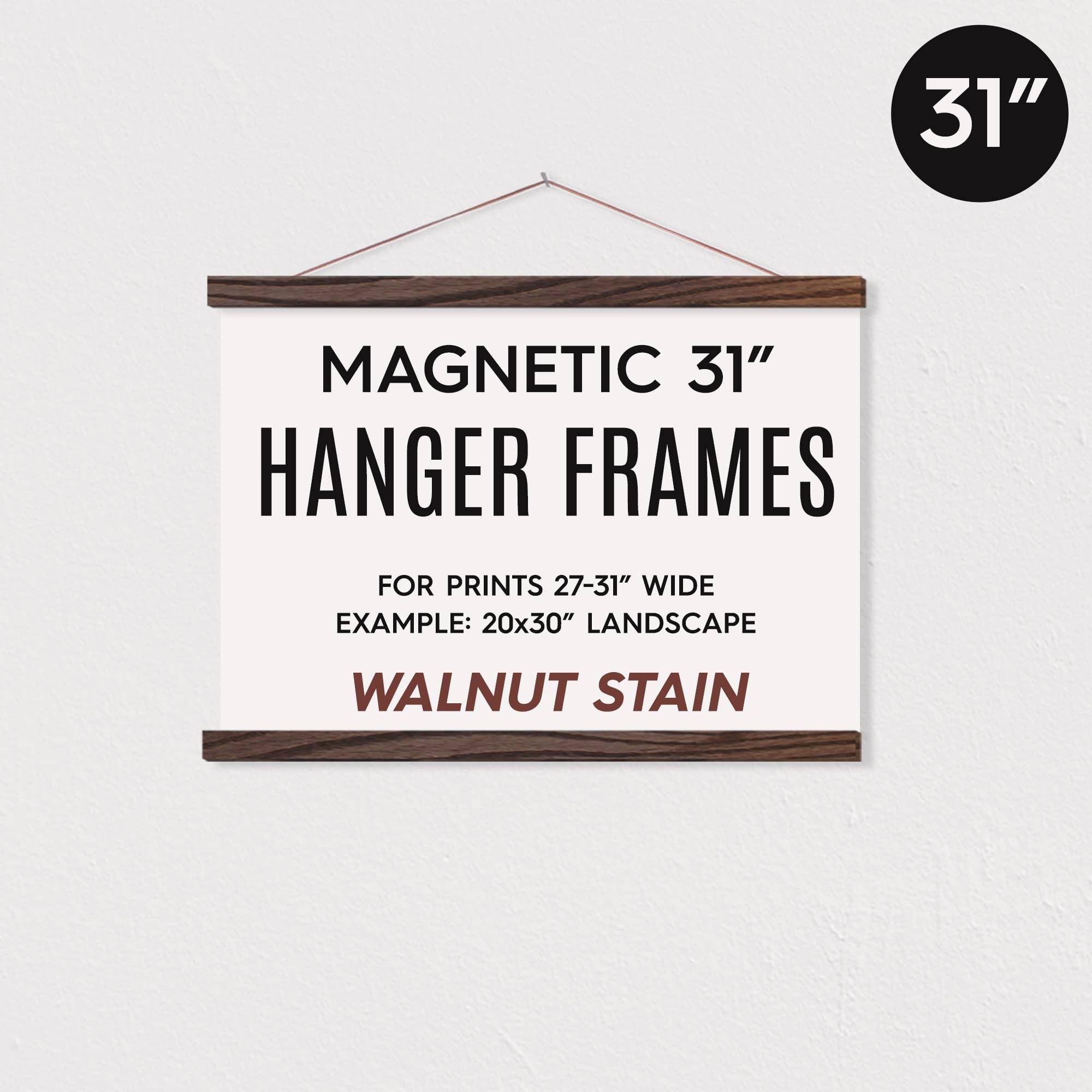 """31"""" MAGNETIC Poster Hanger Frame for 20x30"""" Landscape Prints   Trada Marketplace"""