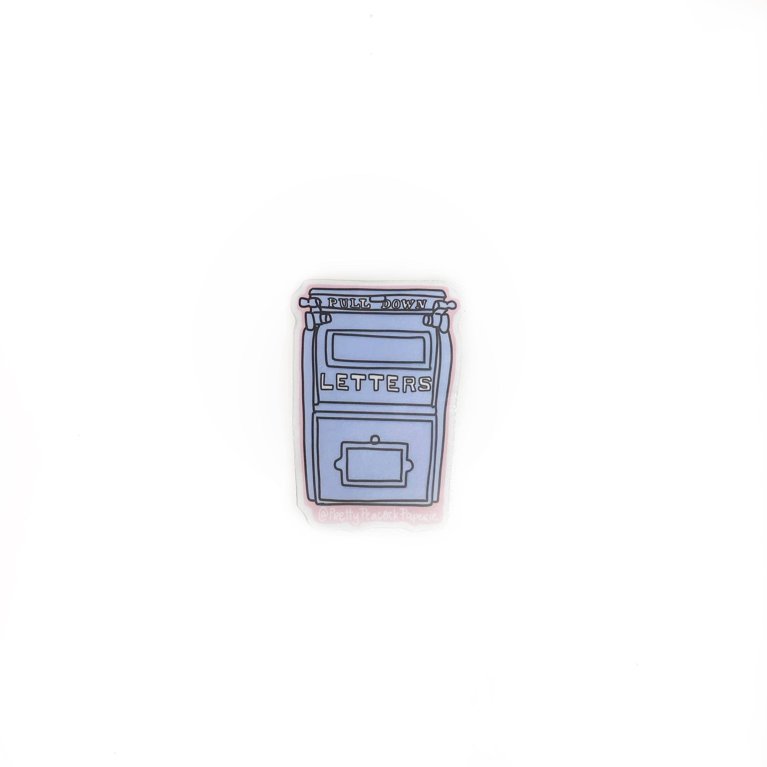 Love Letters - Mailbox Sticker - USPS | Trada Marketplace