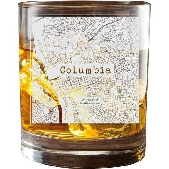 Columbia SC College Town Glasses (Set of 2)   Trada Marketplace
