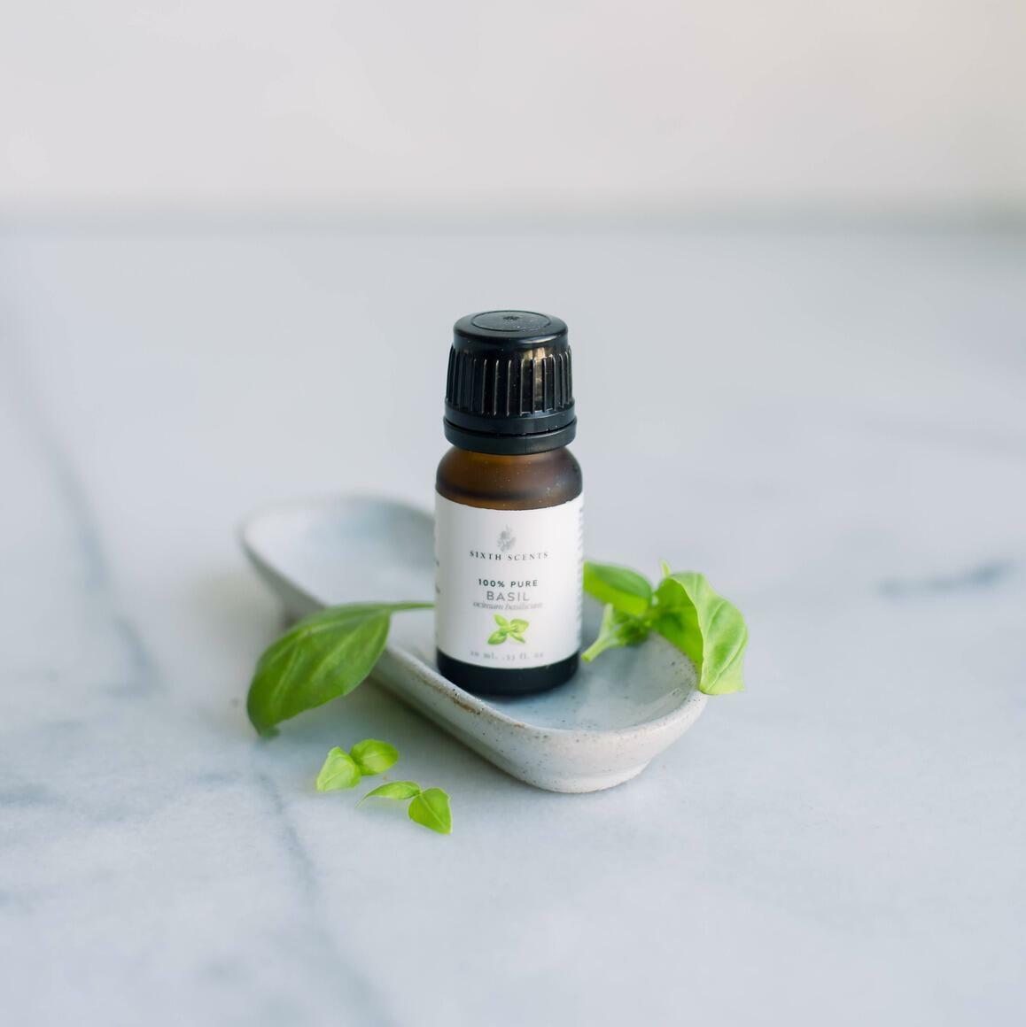 Basil Sweet Essential Oil | Trada Marketplace
