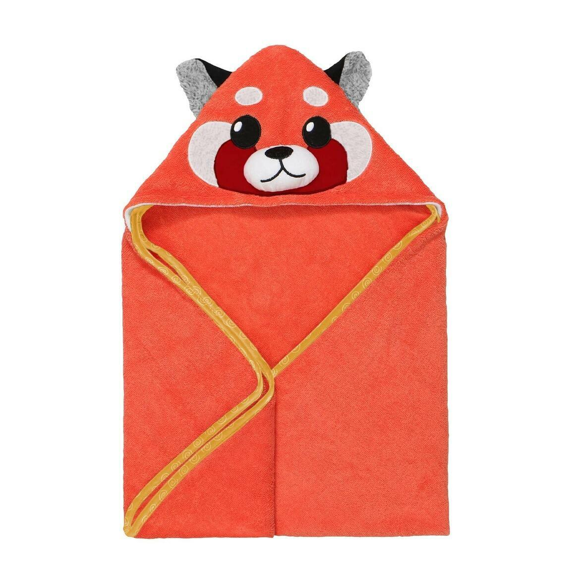 Baby Snow Terry Hooded Bath Towel Red Panda 0-18M | Trada Marketplace