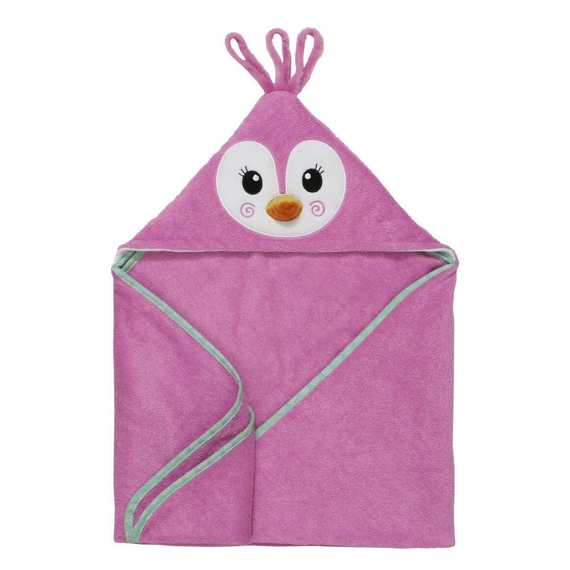 Baby Snow Terry Hooded Bath Towel Penguin 0-18M | Trada Marketplace