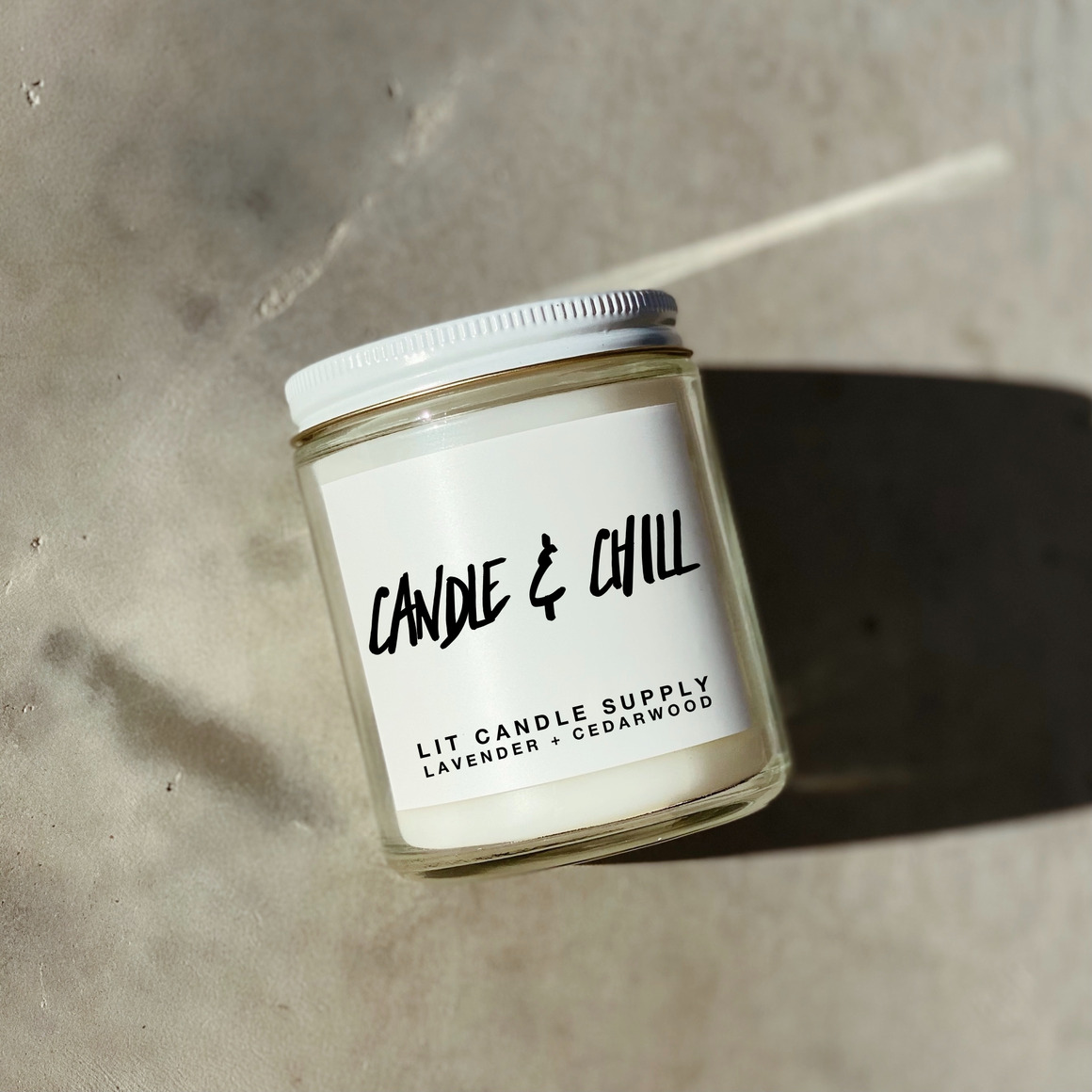 Candle & Chill Candle | Trada Marketplace