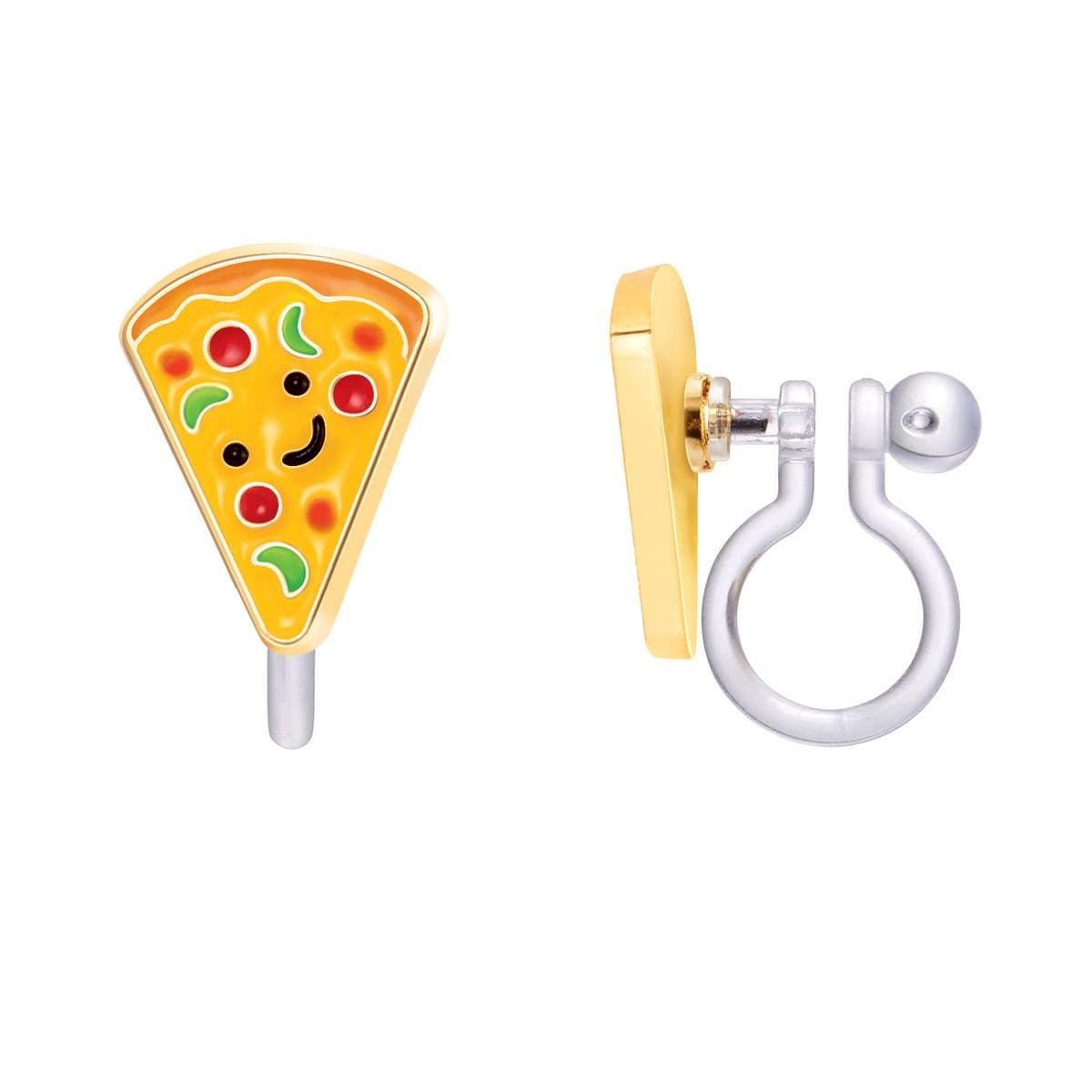 CLIP ON Cutie Earrings- Pizza Pizzazz | Trada Marketplace