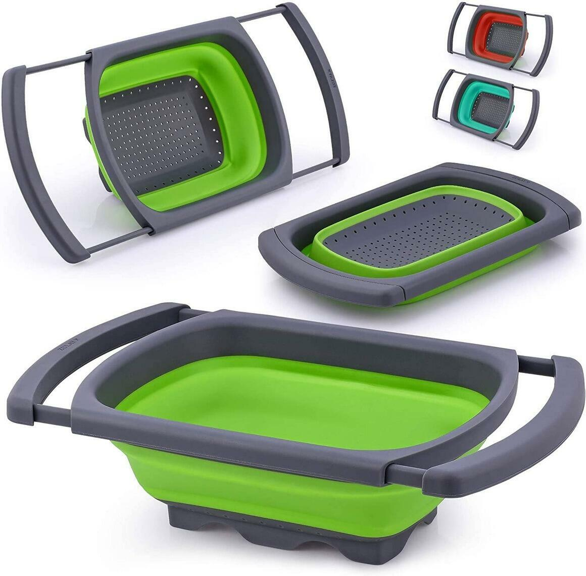 Collapsible Colander With Extendable Handles | Trada Marketplace