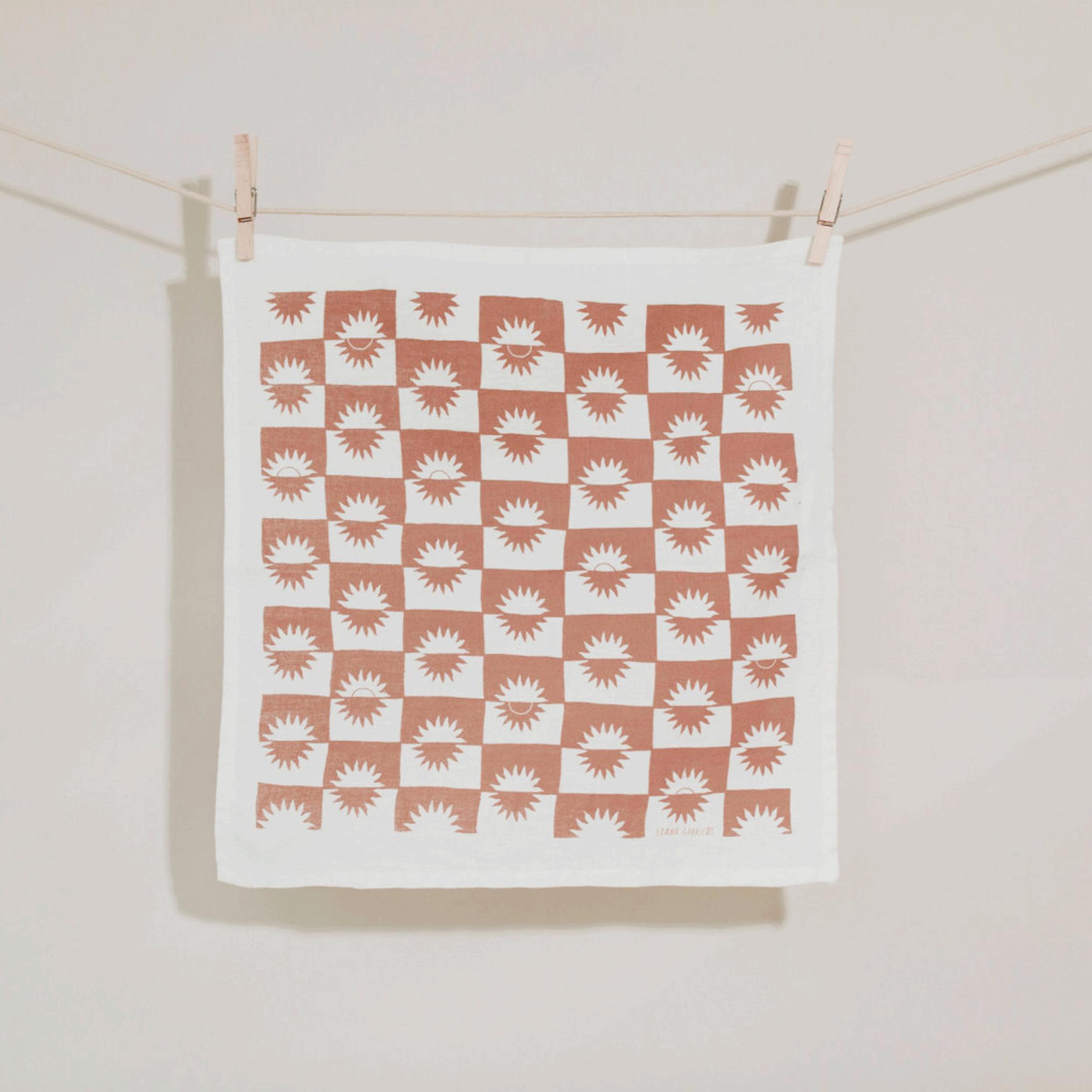 Sunrise Linen Napkin Set   Trada Marketplace