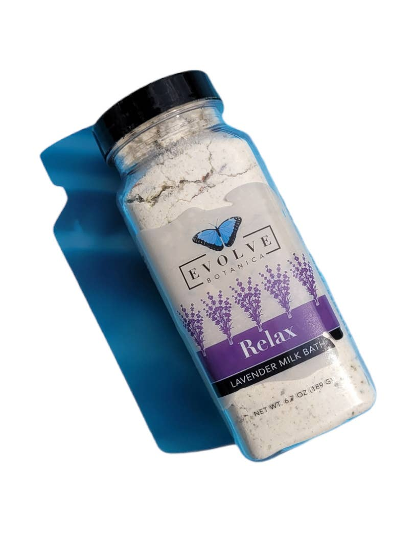 Evolve - Milk Bath - Relax ( Lavender)   Trada Marketplace