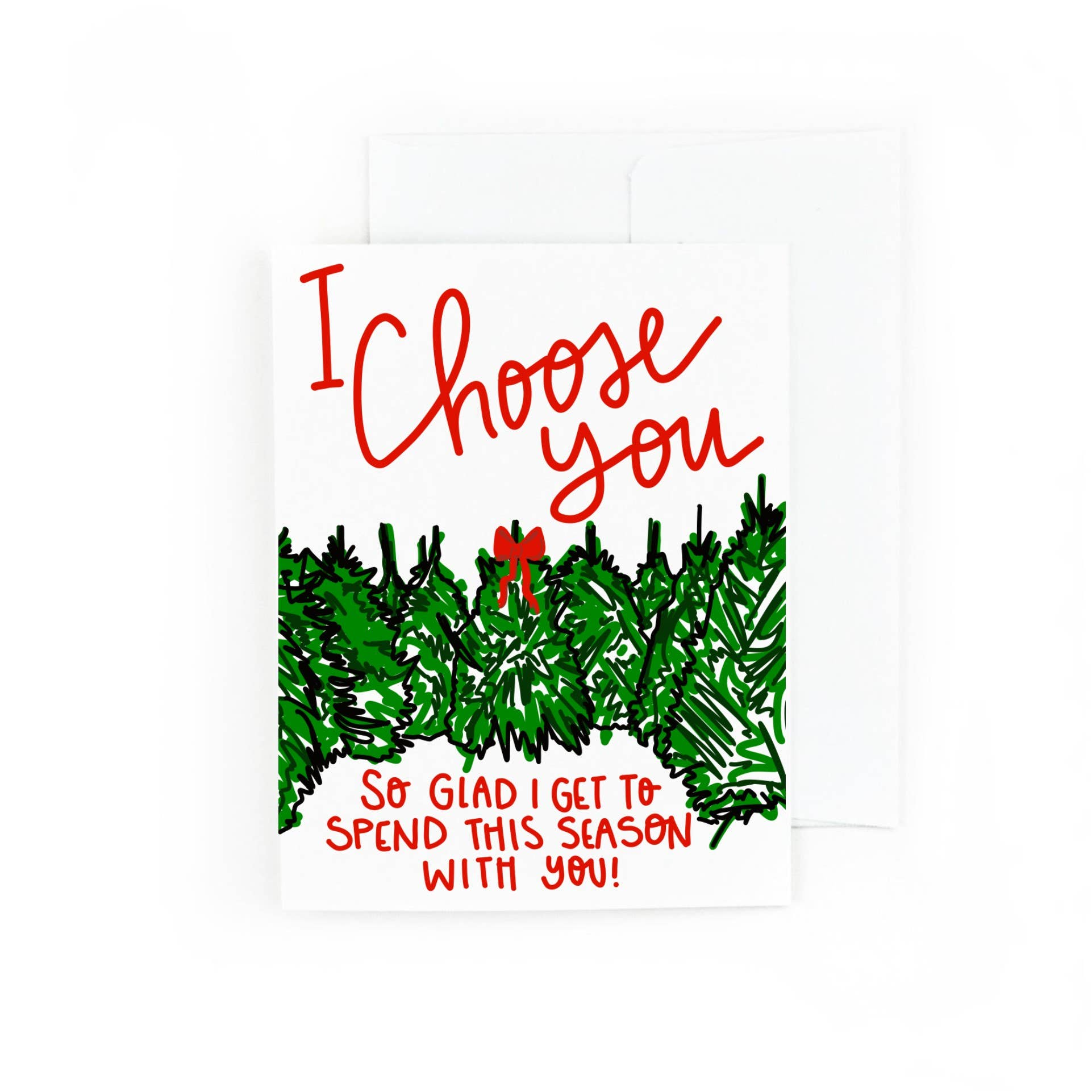 I Choose You Holiday Card | Trada Marketplace