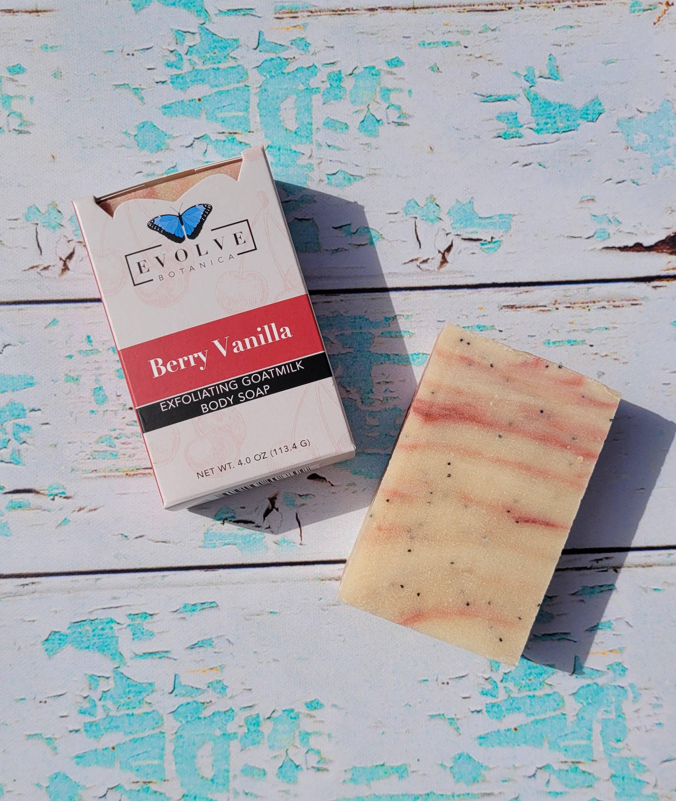 Evolve - Standard Soap - Berry Vanilla (Goatmilk) | Trada Marketplace